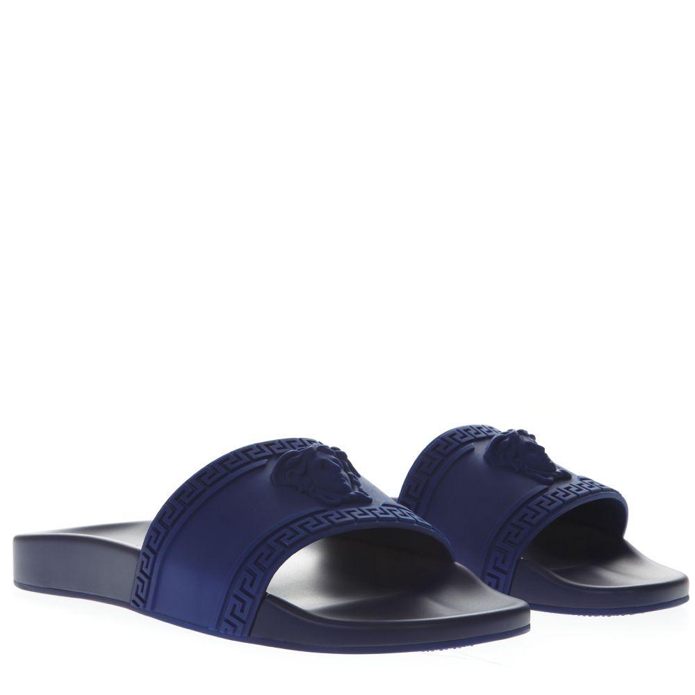 Versace Sandals Versace Palazzo Medusa Bluette Sandals