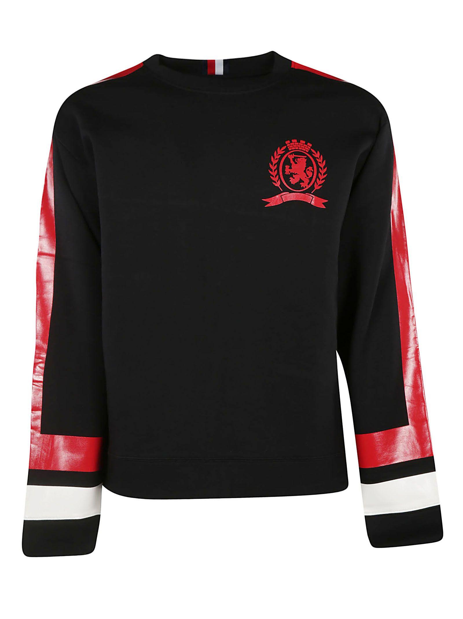 89a14d62dec Tommy Hilfiger Tommy Hilfiger Striped Sweatshirt - Jet Black ...