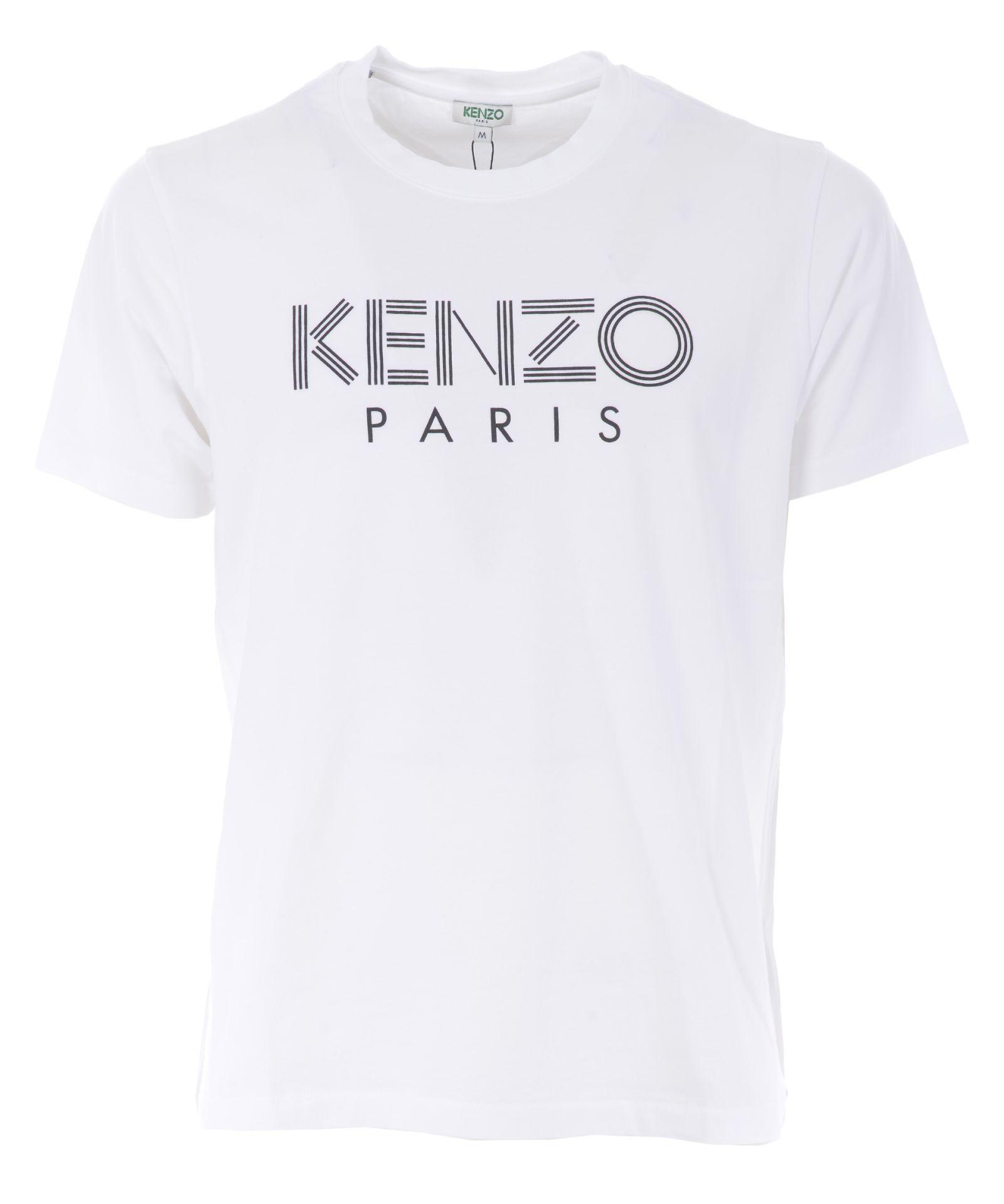 56a150559 Kenzo Kenzo Logo Print T-shirt - White - 10863450 | italist