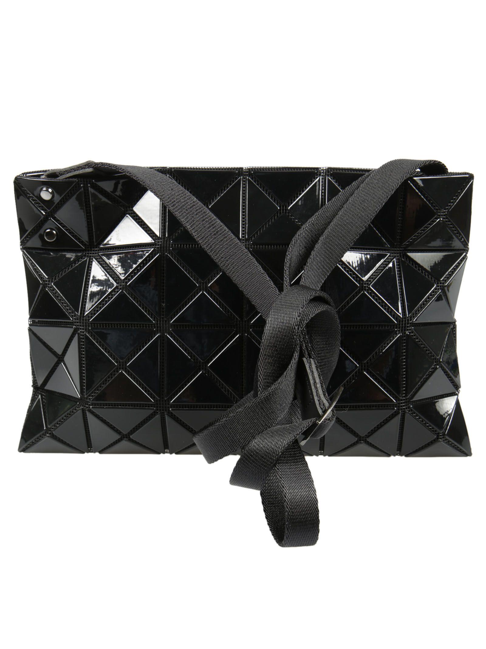 5fd7bd0e548c ... Bao Bao Issey Miyake Lucent Basics Shoulder Bag - Black