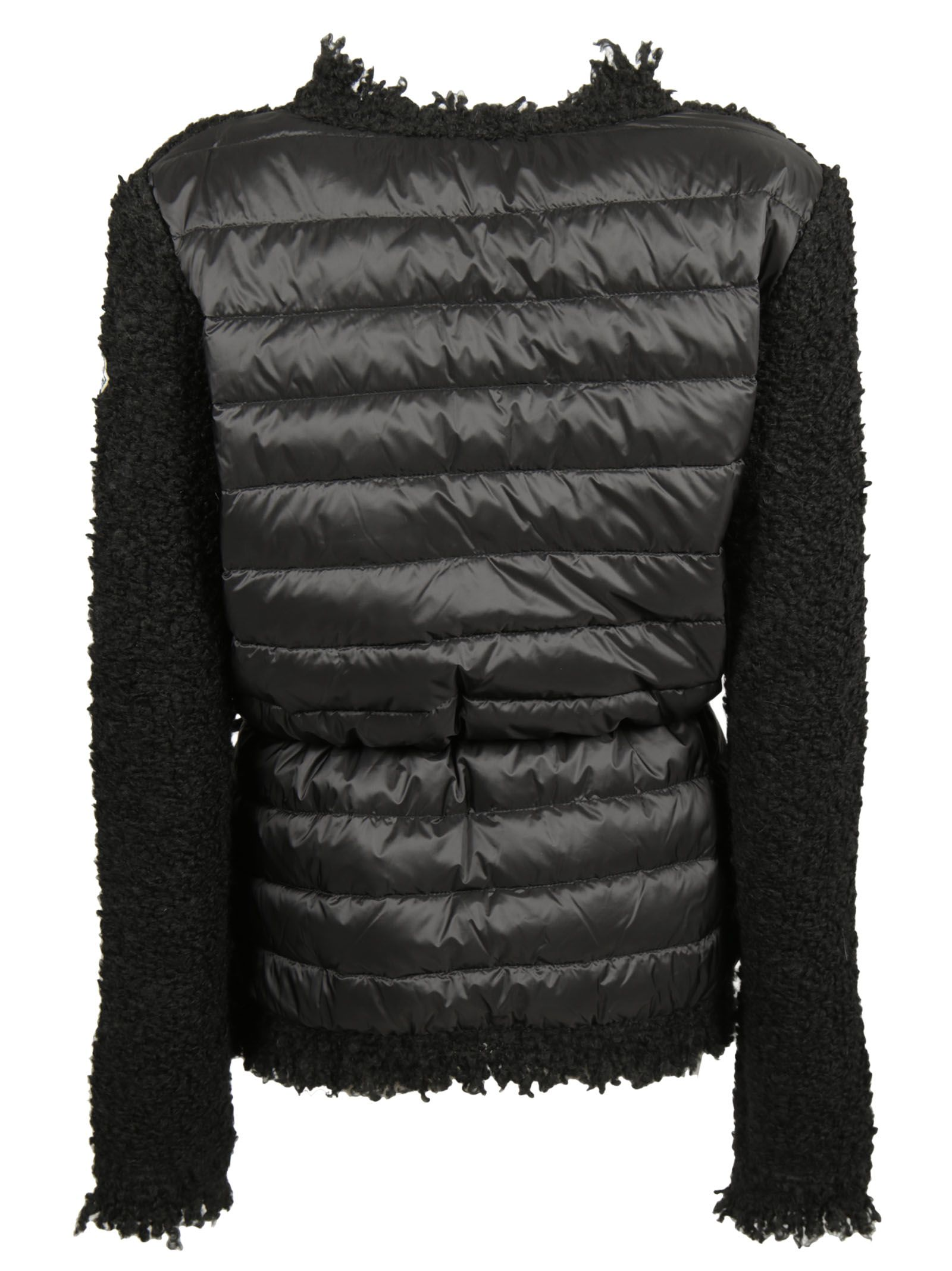 3dcf6ed0208 Moncler Feather Cardigan - Black Moncler Feather Cardigan - Black