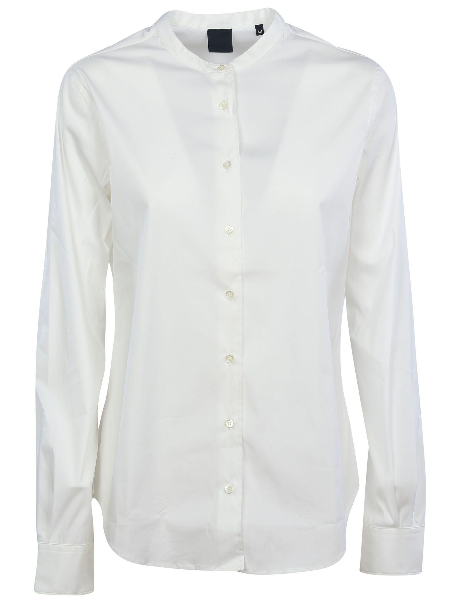 Aspesi Aspesi Collarless Shirt White 3728012 Italist