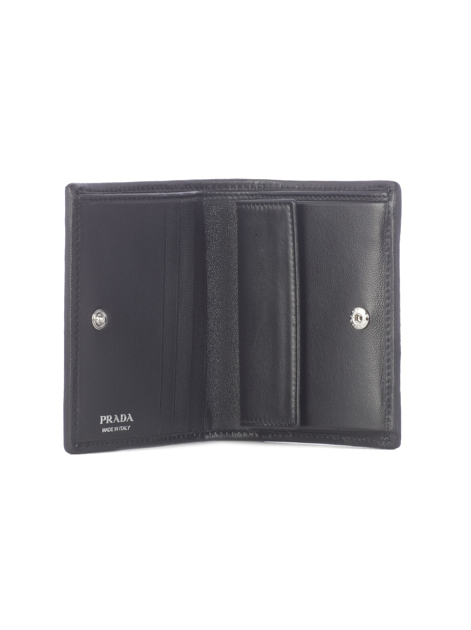 e40448c8d Prada Prada Diagramme French Wallet - Black - 10805491 | italist