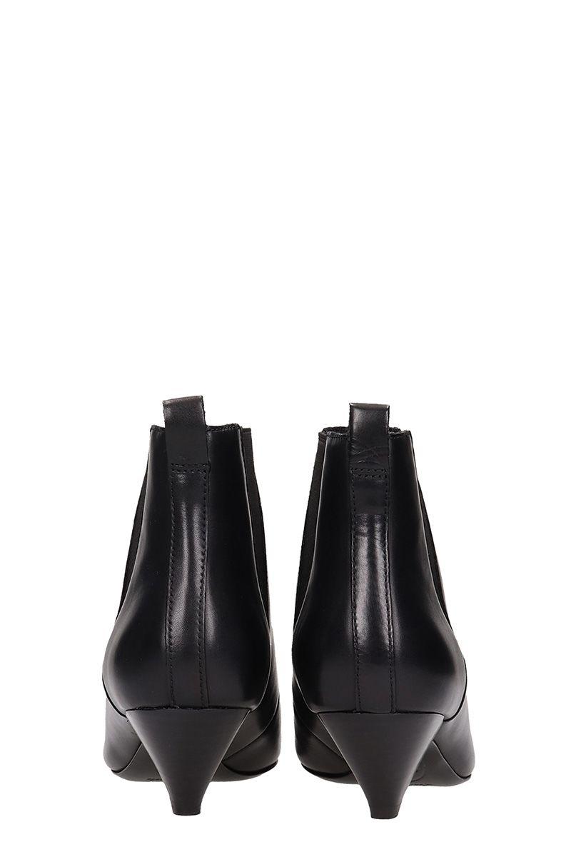 f1fa3689f Ash Ash Cosmos Black Leather Ankle Boots - black - 10687004
