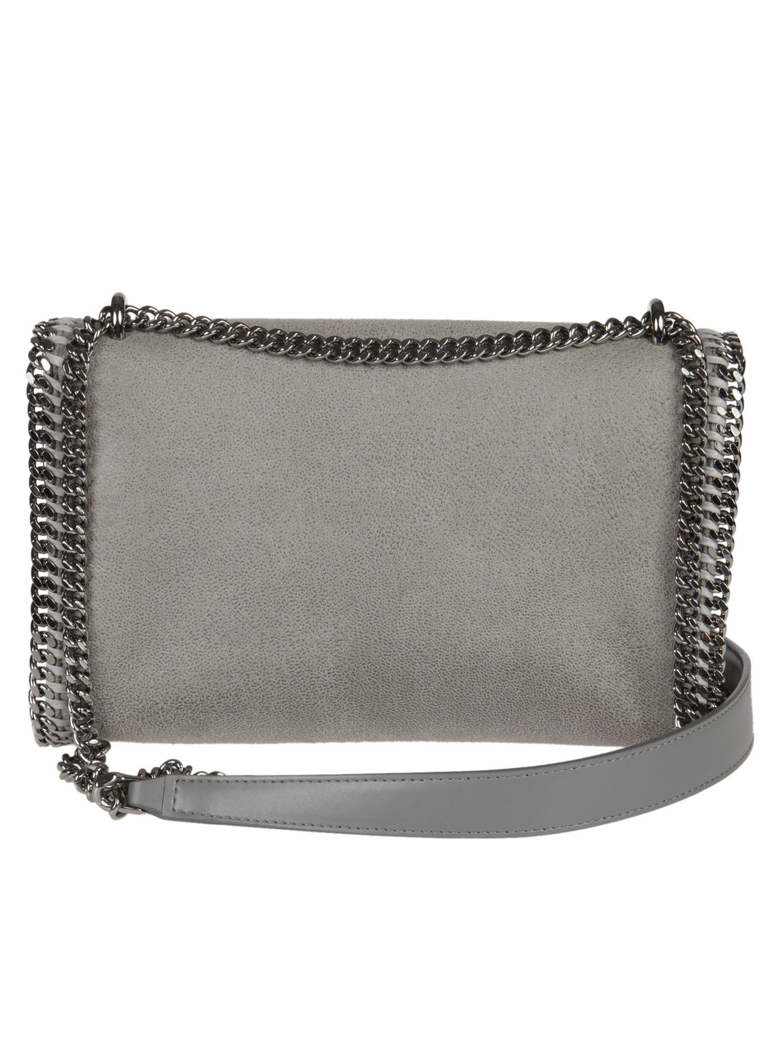 93a390c25620 Stella McCartney Stella McCartney Falabella Shoulder Bag - Gray ...