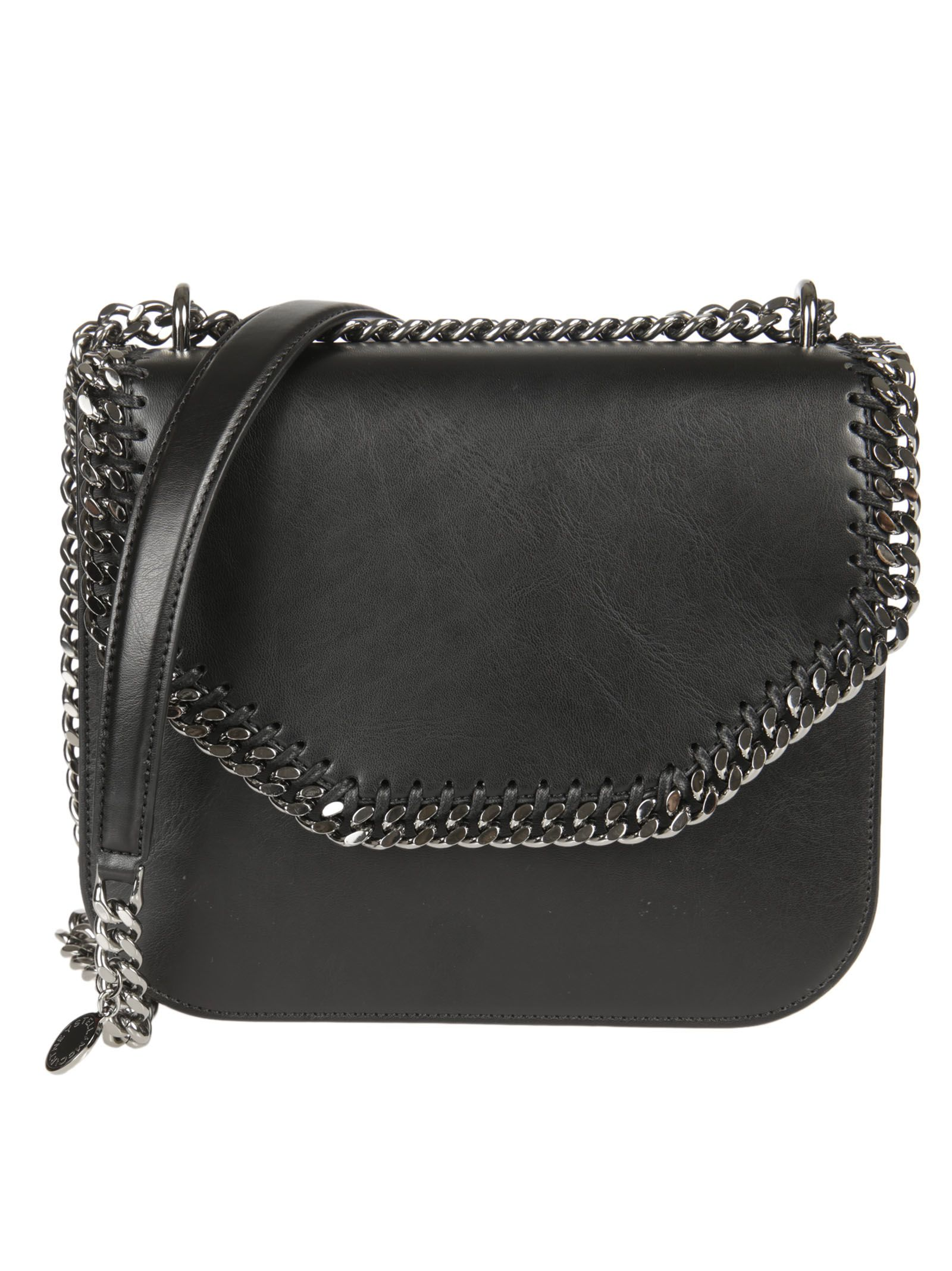 69dc2cb685c Stella McCartney Stella McCartney Falabella Box Shoulder Bag - Black ...