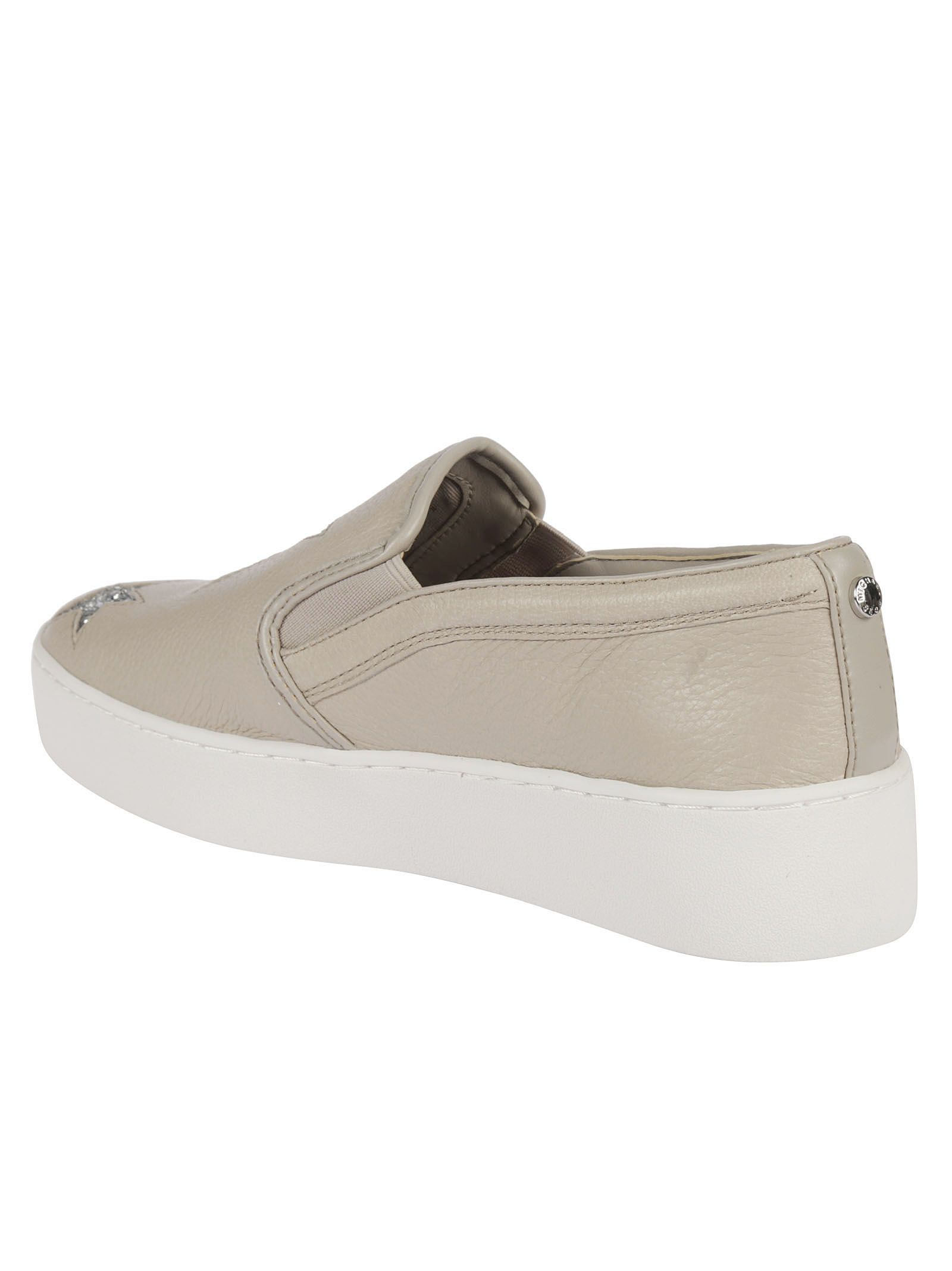 c5578baf22a7a ... MICHAEL Michael Kors Pia Slip-on Star Sneakers - Cement