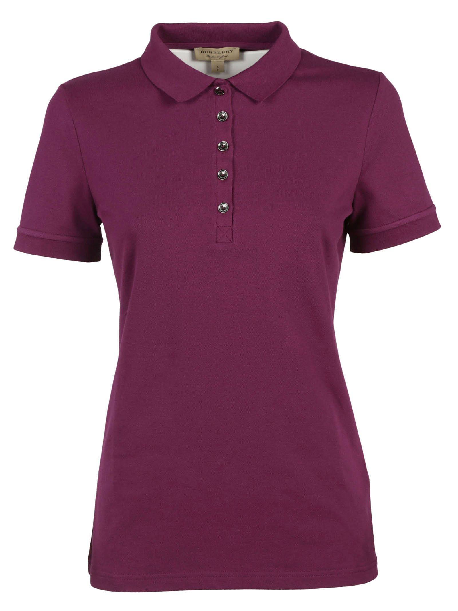 Burberry Burberry Brit Classic Polo Shirt - Magenta - 6069208   italist 064753dc6f5
