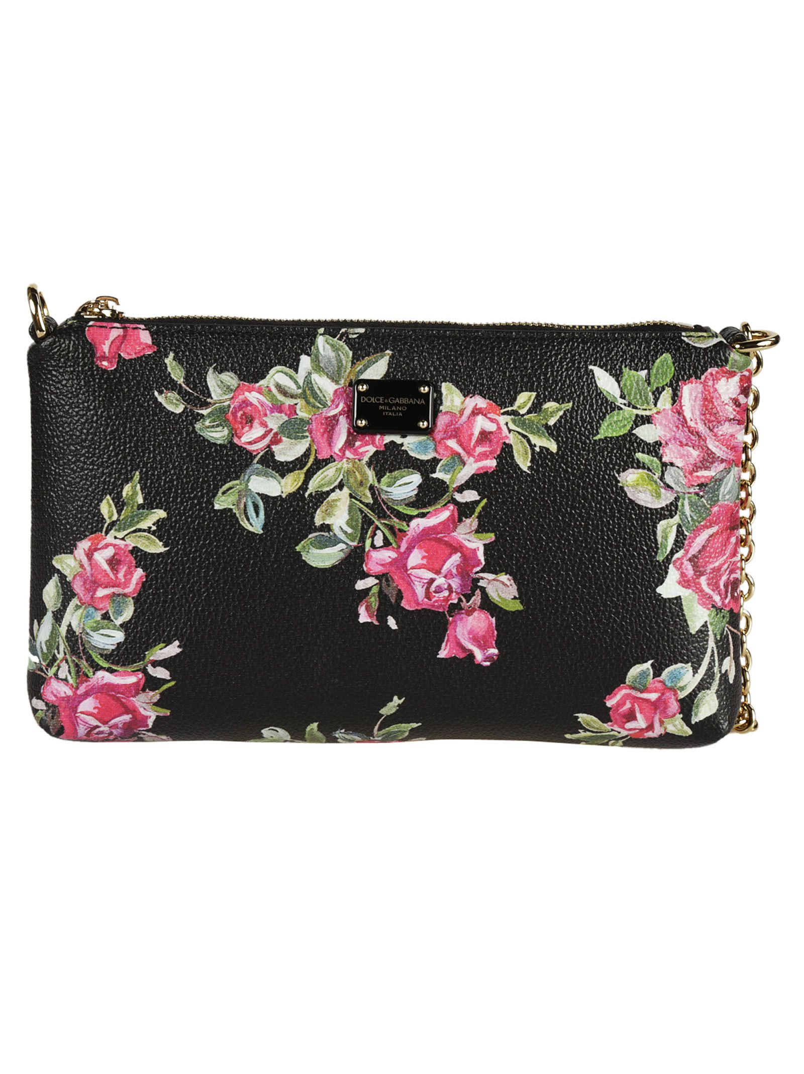 1f0d808b9d05 Dolce   Gabbana Dolce   Gabbana Rose Shoulder Bag - Black - 6303776 ...