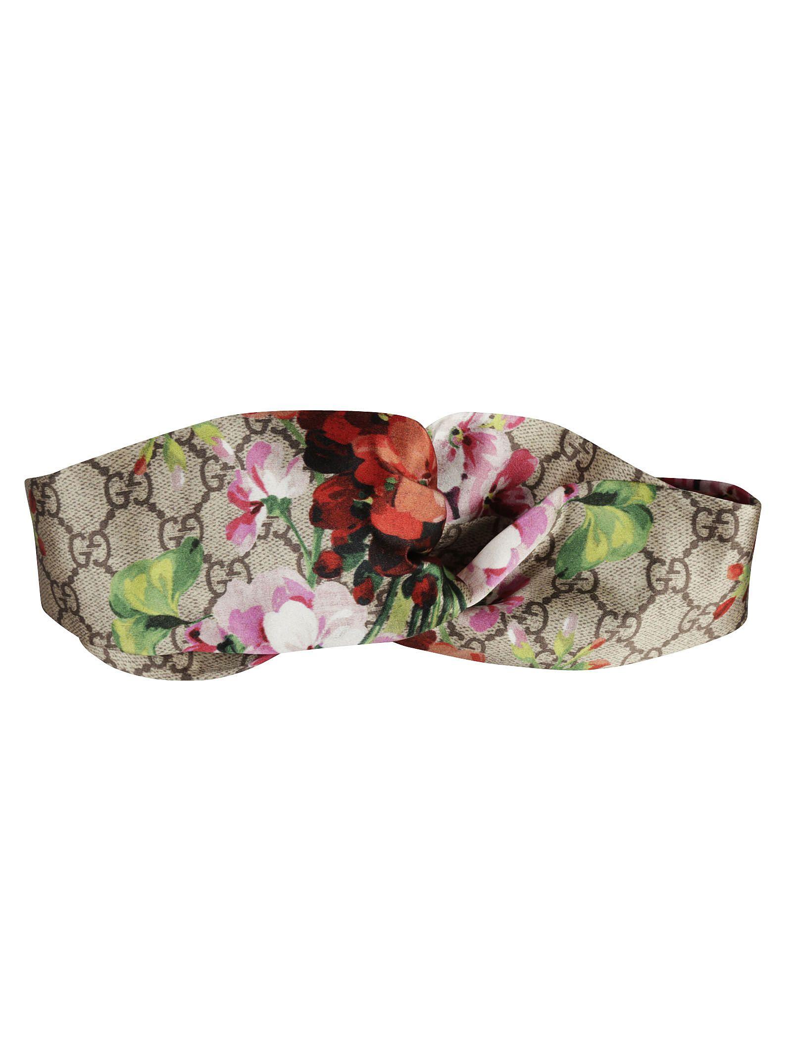 ae296353b467 Gucci Gucci GG Blooms Print Headband - Multicolor - 6303797