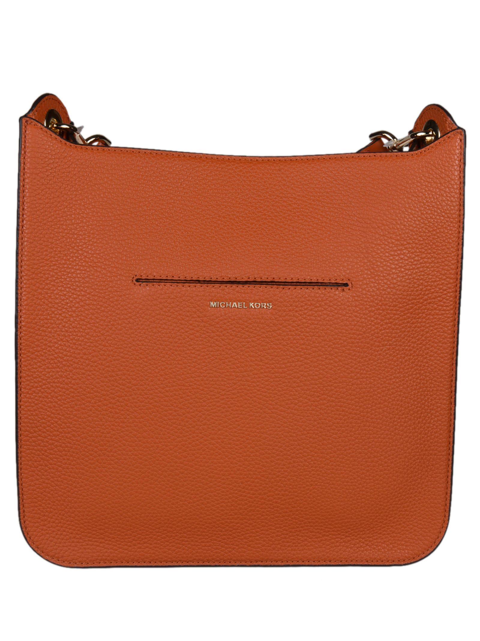 5275e1a67e6b Michael Kors Sullivan Large North South Messenger Shoulder Bag - Orange ...