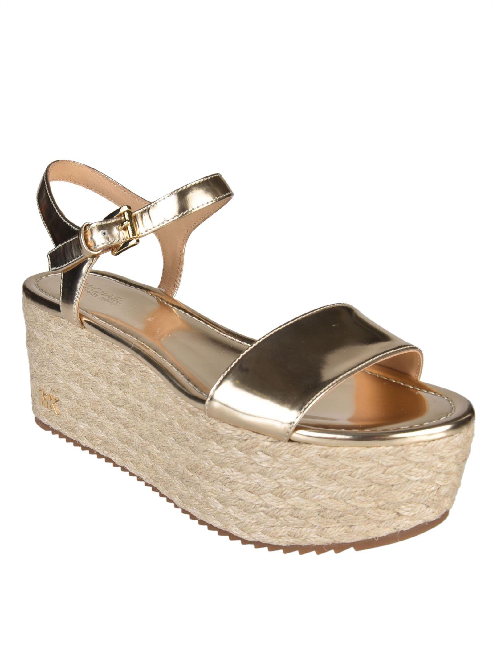 0688a611555 MICHAEL Michael Kors MICHAEL Michael Kors Nantucket Wedge Sandals ...
