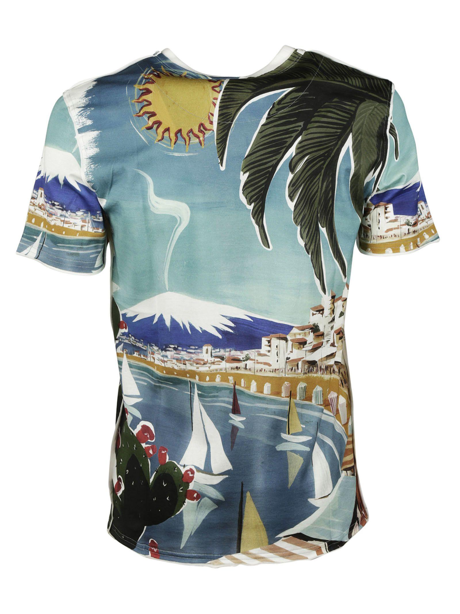 5af1332fb375f ... dolce gabbana dolce gabbana catania print t shirt multicolor ...