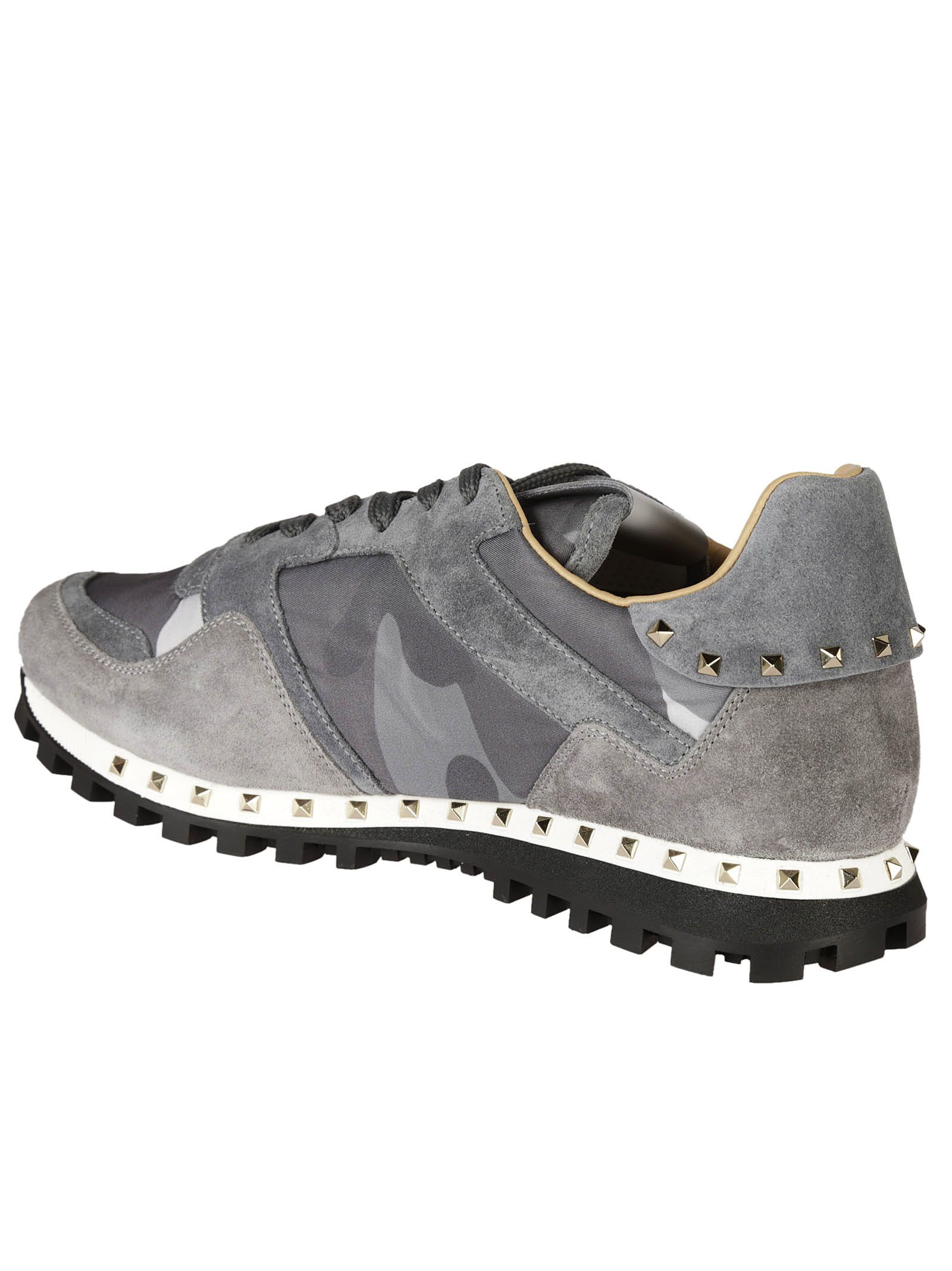 Valentino Garavani Valentino Garavani Rockstud Camouflage Sneakers