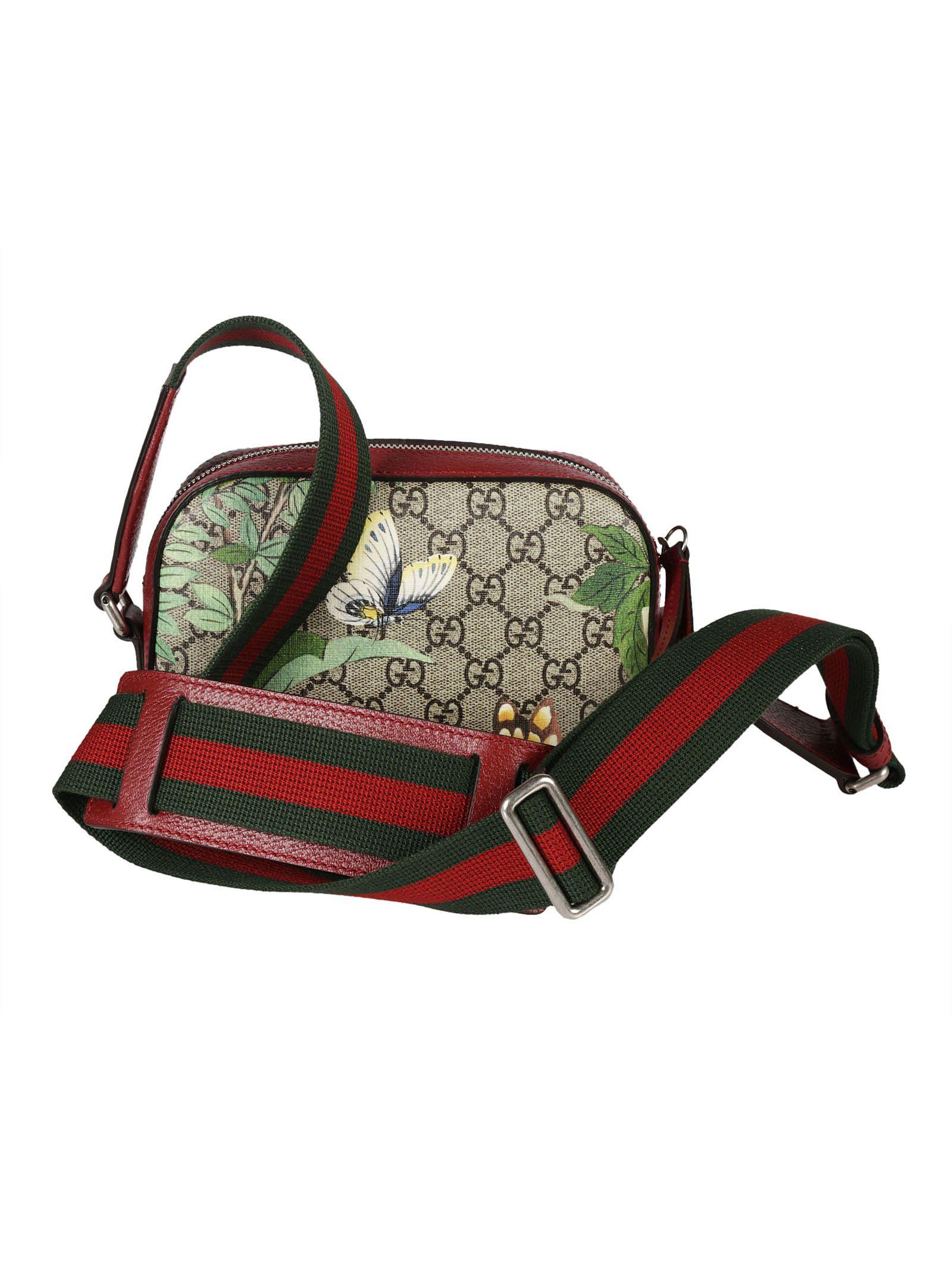 c1b6ab8d2e2e Gucci Gucci Tian Print GG Supreme Shoulder Bag - Multicolor ...