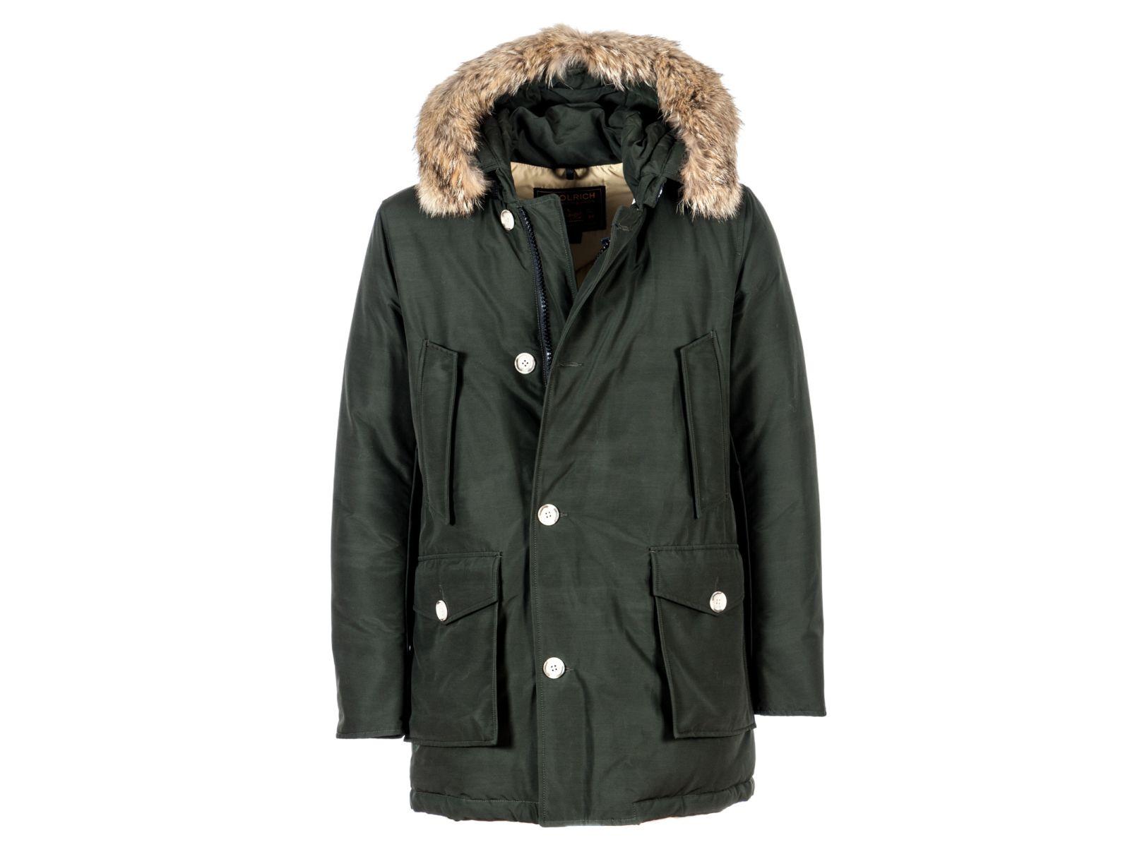 Woolrich jacke fake fur