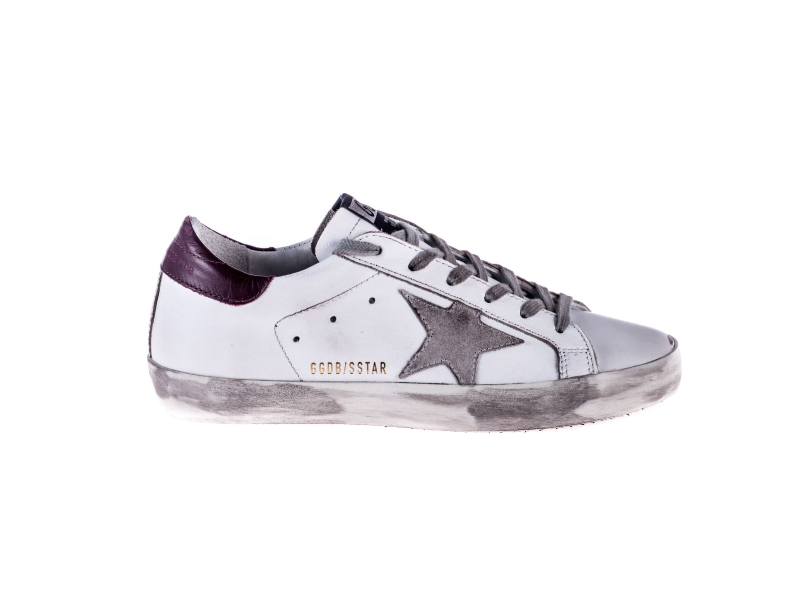 1acdb1466ac6f Golden Goose Superstar Sneakers - White Bordeaux ...