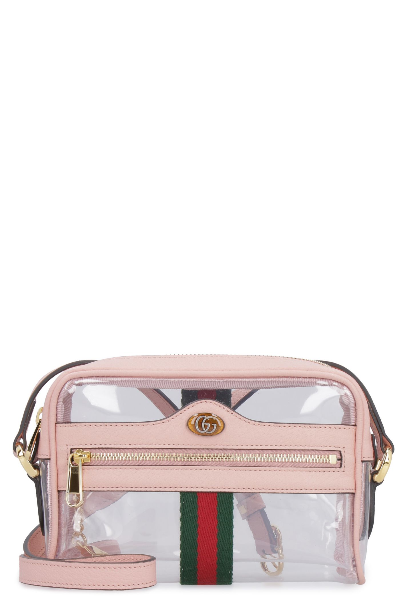 7fad01e60008 Gucci Gucci Ophidia Vinyl Shoulder Bag - Transparent - 10934742 ...