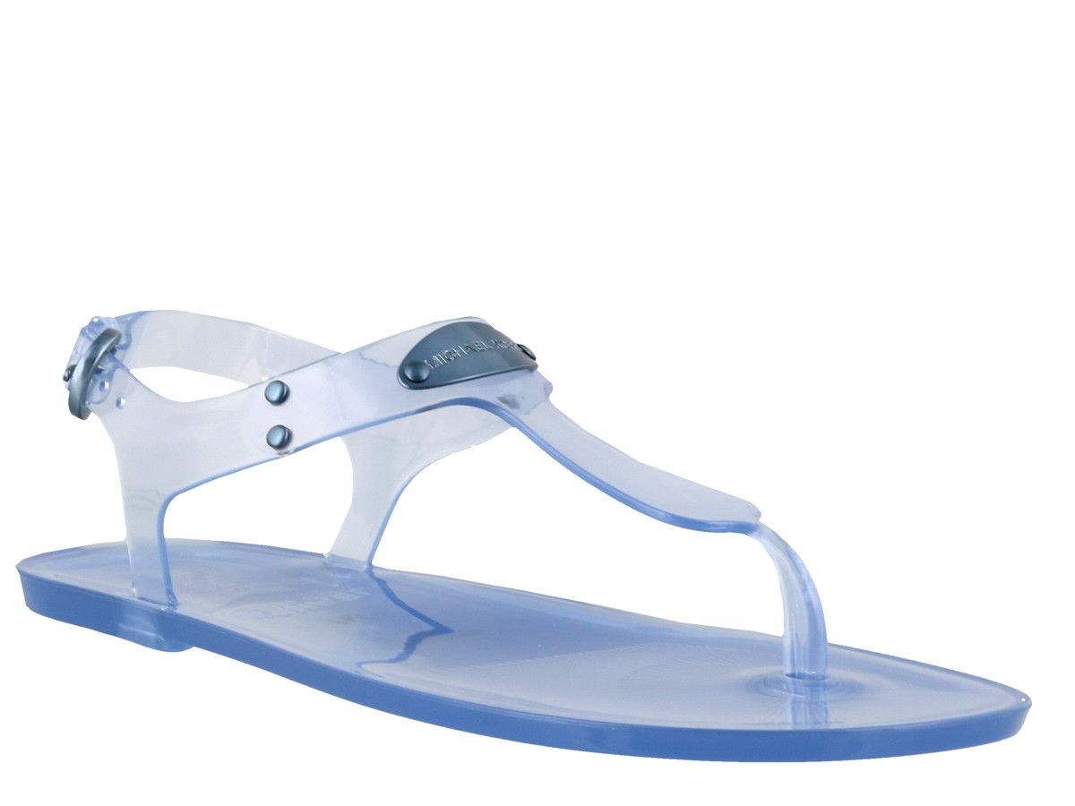 6c276b4333cf Michael Kors Michael Kors Jelly Thong Sandals - Blue - 10925565 ...