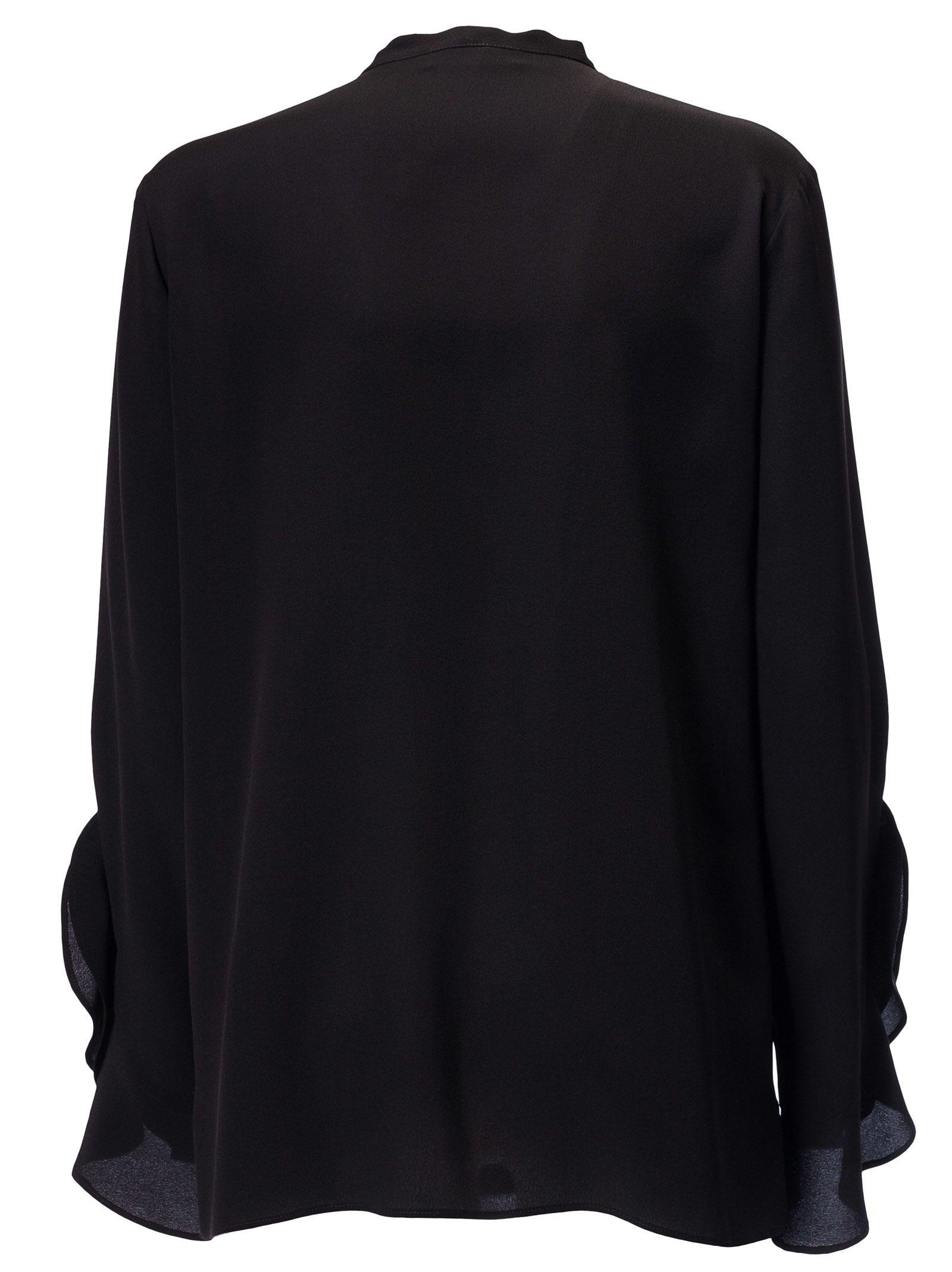 3dda4c6d3f8a64 Etro Ruffled Shirt - Black Etro Ruffled Shirt - Black ...