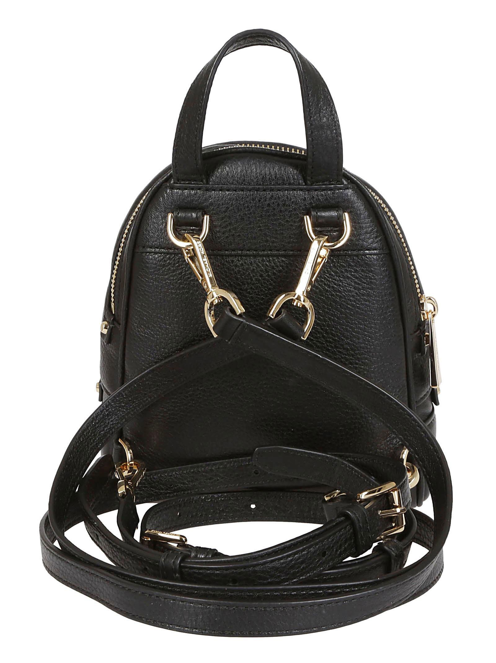 b003a47900ec Michael Kors Michael Kors Rhea Mini Backpack - Nero/oro - 10815979 ...