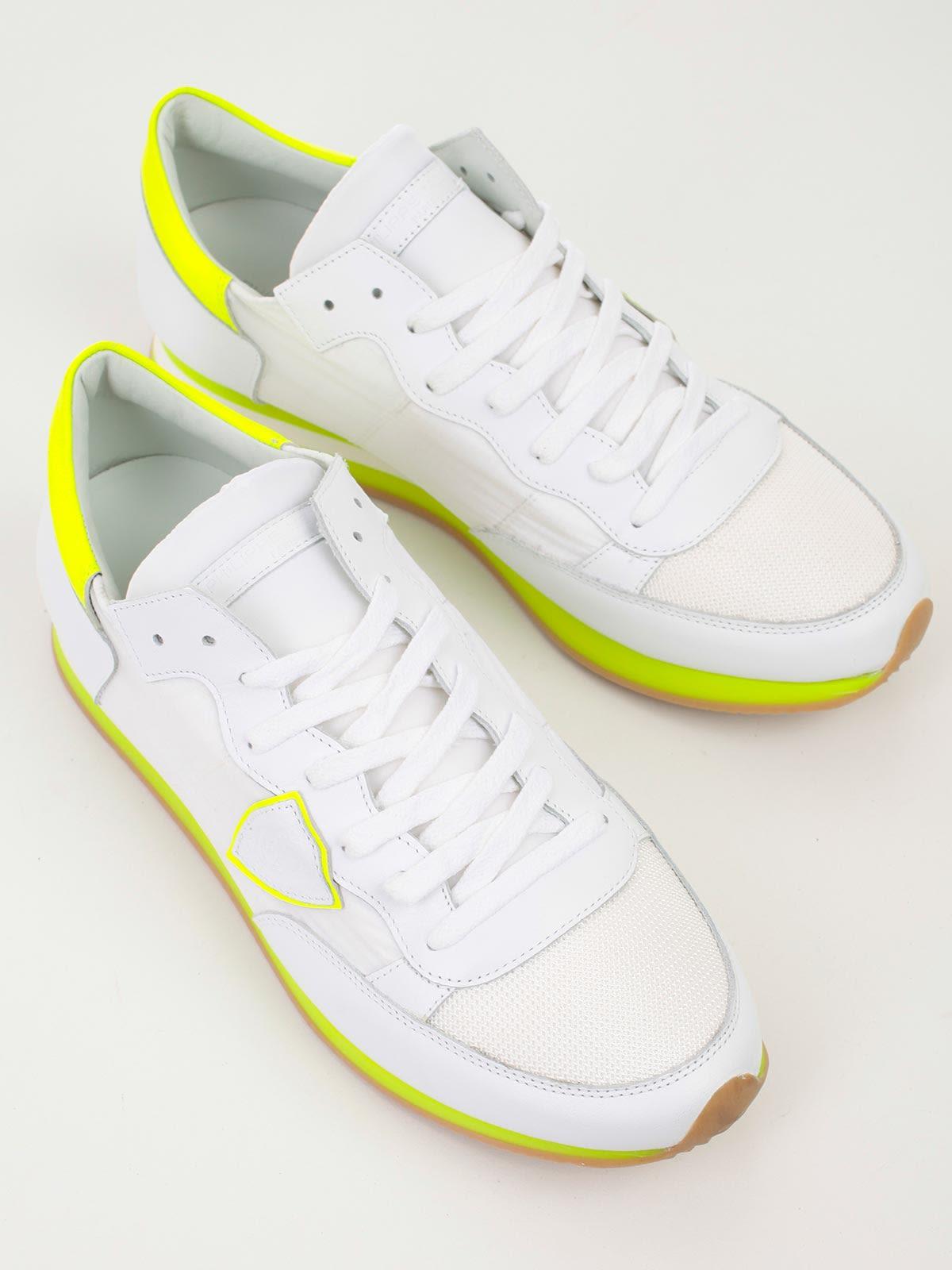 ... Philippe Model Scarpa Tropez - Mondial White Yellow fb90e078b93