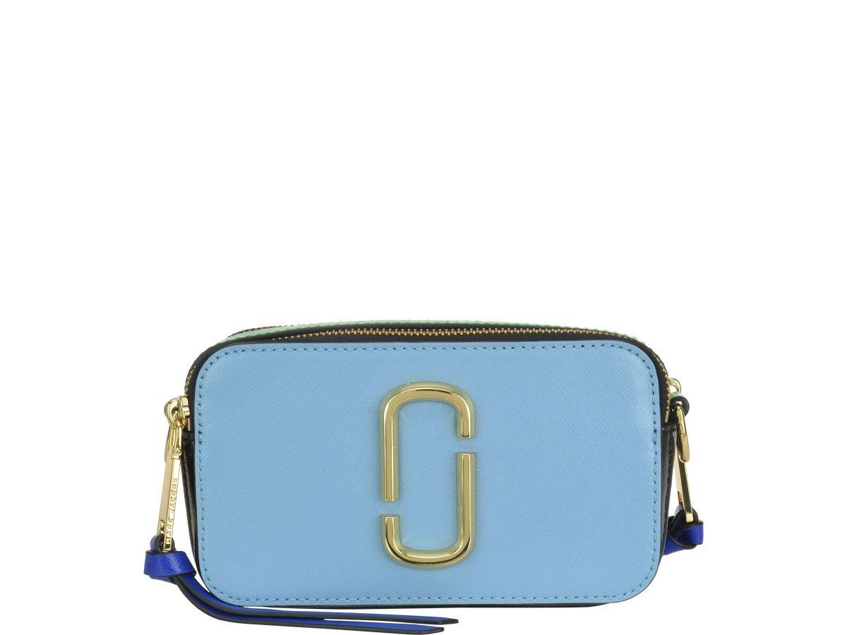 ca987fe3e0a Marc Jacobs Marc Jacobs Snapshot Bag - Blue - 10937609   italist