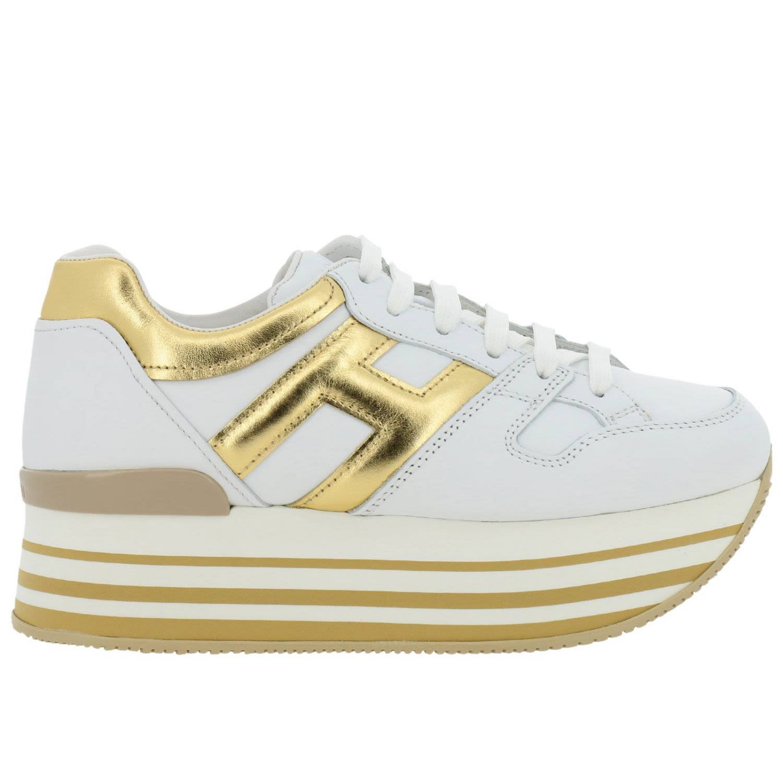 c54d09250b121 Hogan Hogan Sneakers Shoes Women Hogan - Gold - 10776052