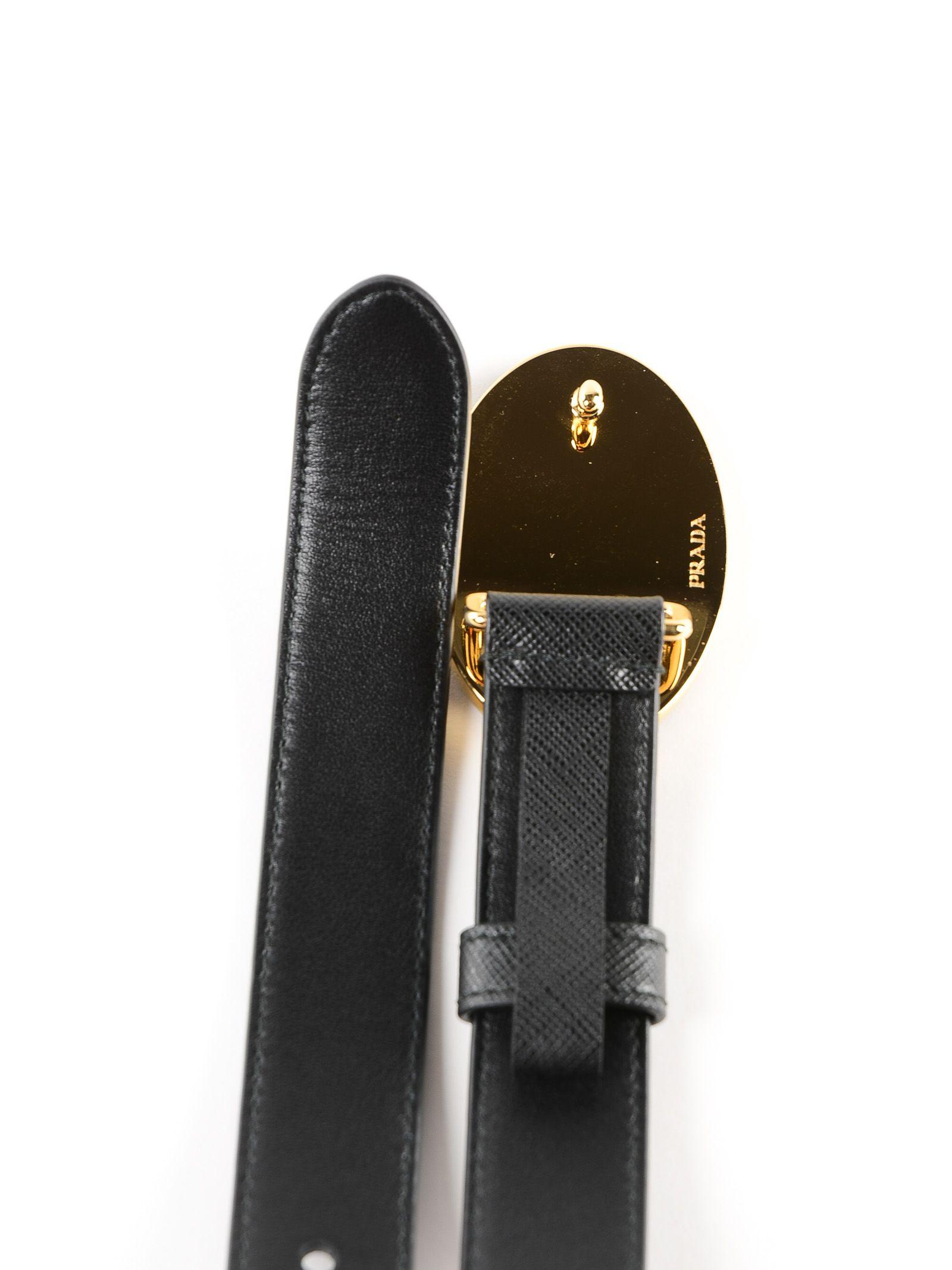 f0ce04709c Prada Prada Logo Belt - Nero - 10773592