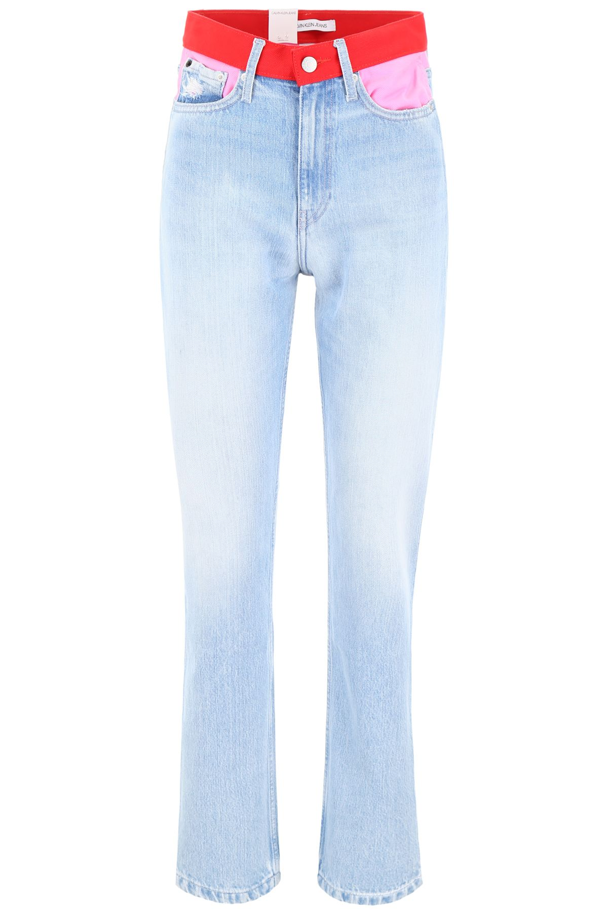 e475746f Calvin Klein Jeans Ckj 030 Jeans - LIGHT BLUE PINK RED (Light blue) ...