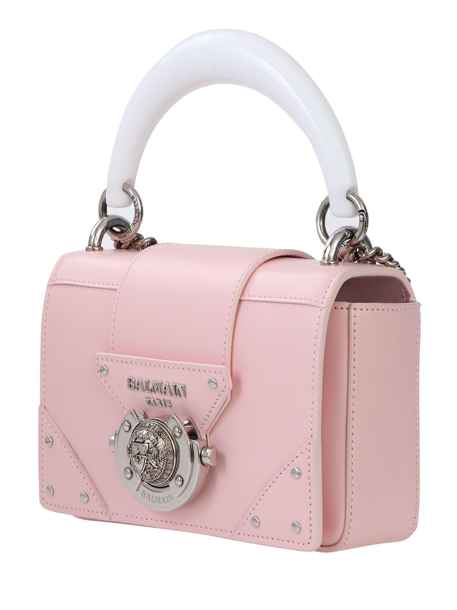 1043abb04e8 Balmain Balmain Paris Shoulder Bag - Pink - 10935144 | italist