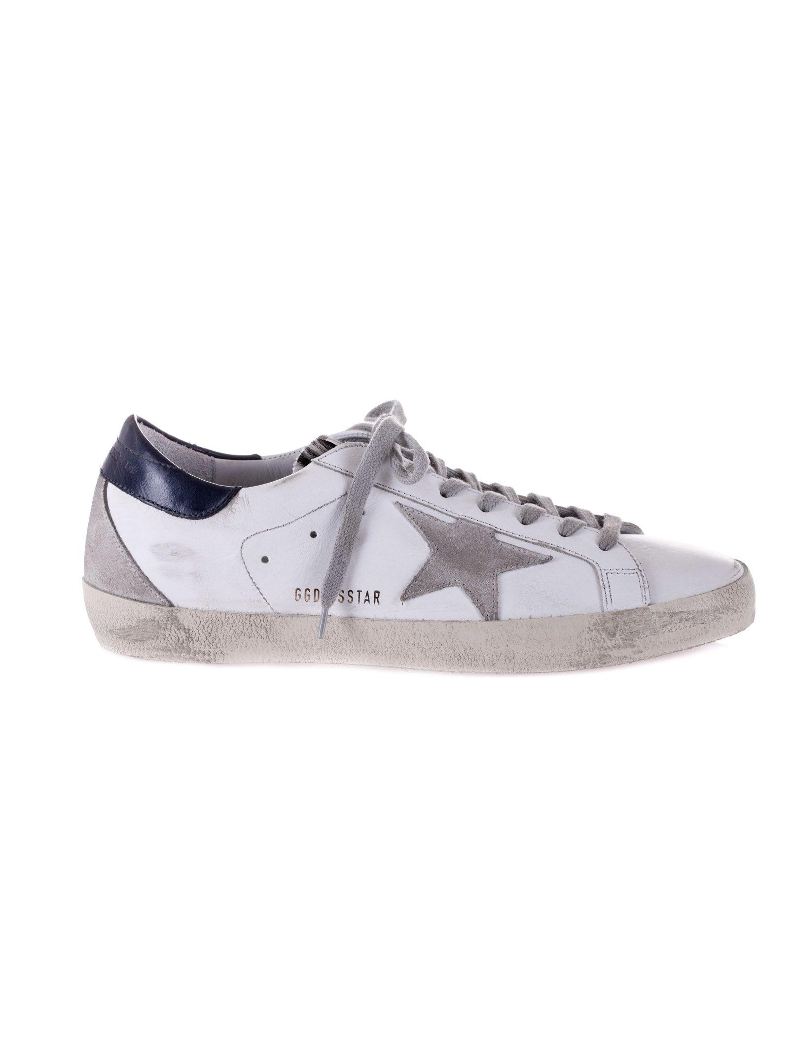 d80a2f137e3 Golden Goose Golden Goose Superstar Sneakers - White Blue - 8062273 ...