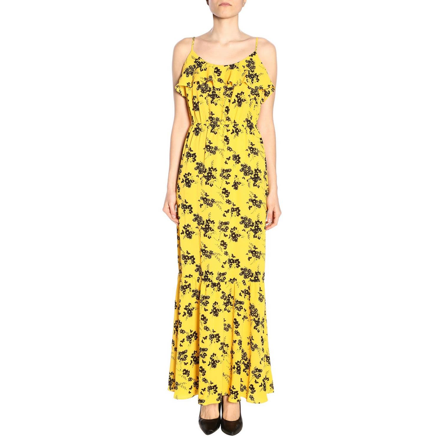 30fe7c075f MICHAEL Michael Kors Dress Dress Women Michael Michael Kors - yellow ...