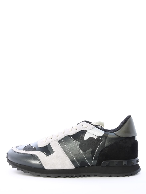 c057ad77cdefc Valentino Garavani Valentino Garavani Sneaker Rockrunner Camouflage ...