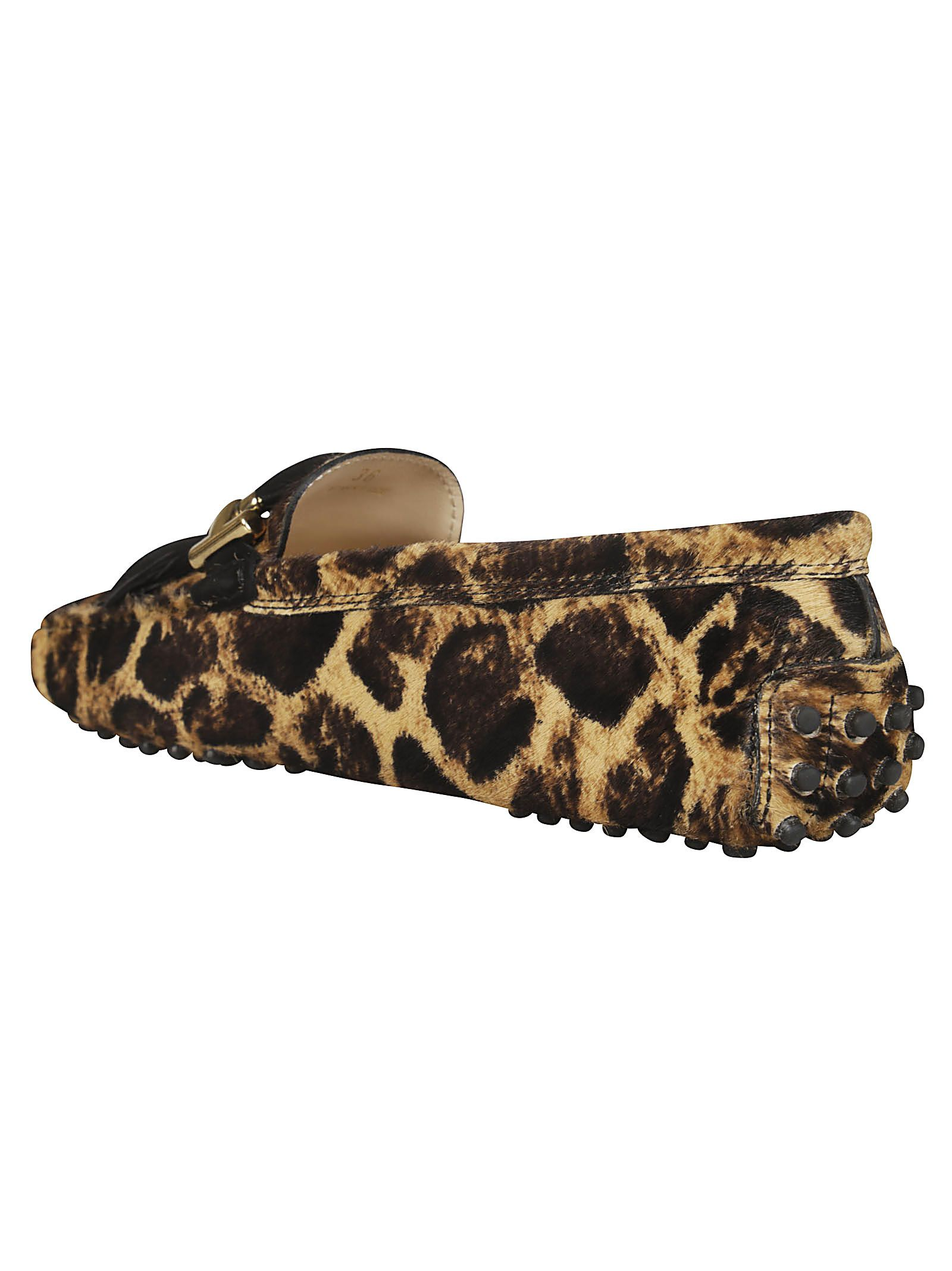 c83073aa5aad Tod's Tod's Animal Print Loafers - Brown - 10905185 | italist