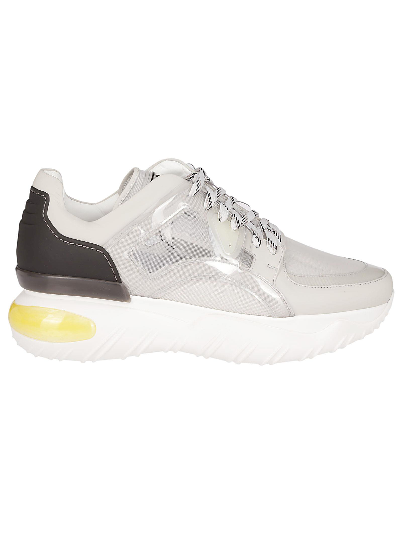 48fb448dae Fendi Classic Low-top Sneakers - WHITE AND BLACK ...