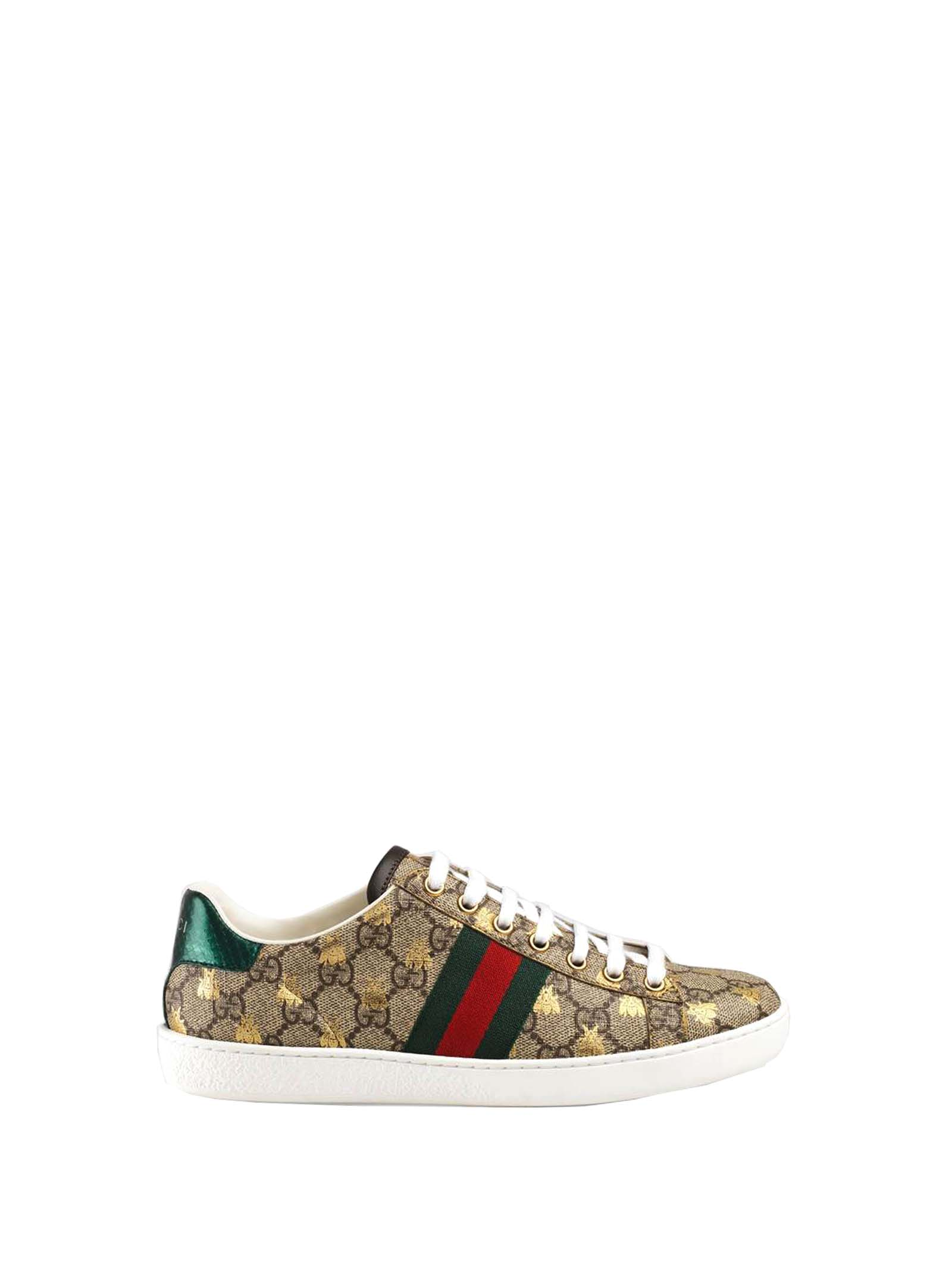 dda7623d893 Gucci Gucci Gucci Gg Supreme Ace Sneakers - Basic - 10885475