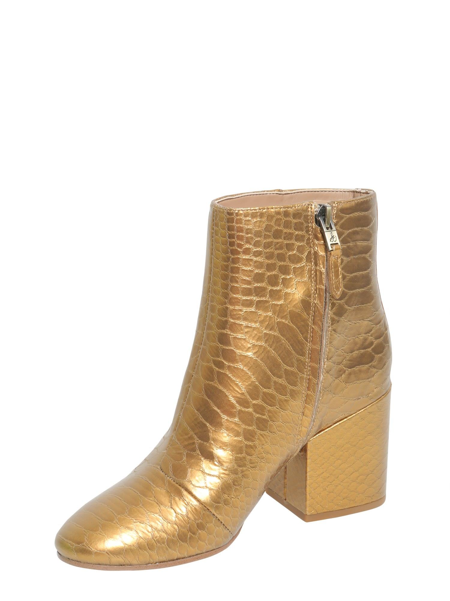 68edc1071874 Sam Edelman Sam Edelman Snake Printed Ankle Boots - ORO - 8250770 ...