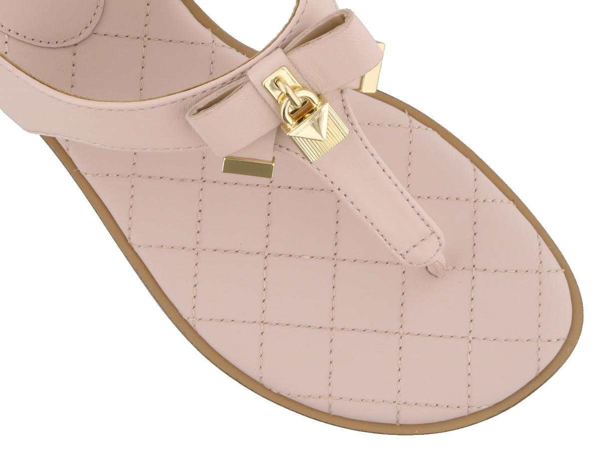 14fc5807e365 Michael Kors Michael Kors Alice Thong Sandals - Pink - 10924403 ...