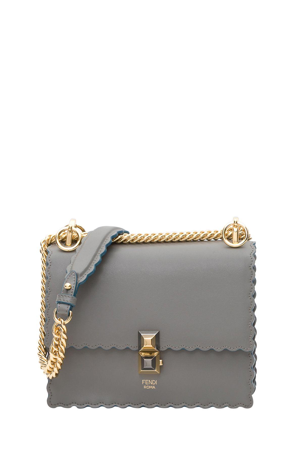 e70de65b844e Fendi Fendi Kan I Mini Bag - Gray - 10865290