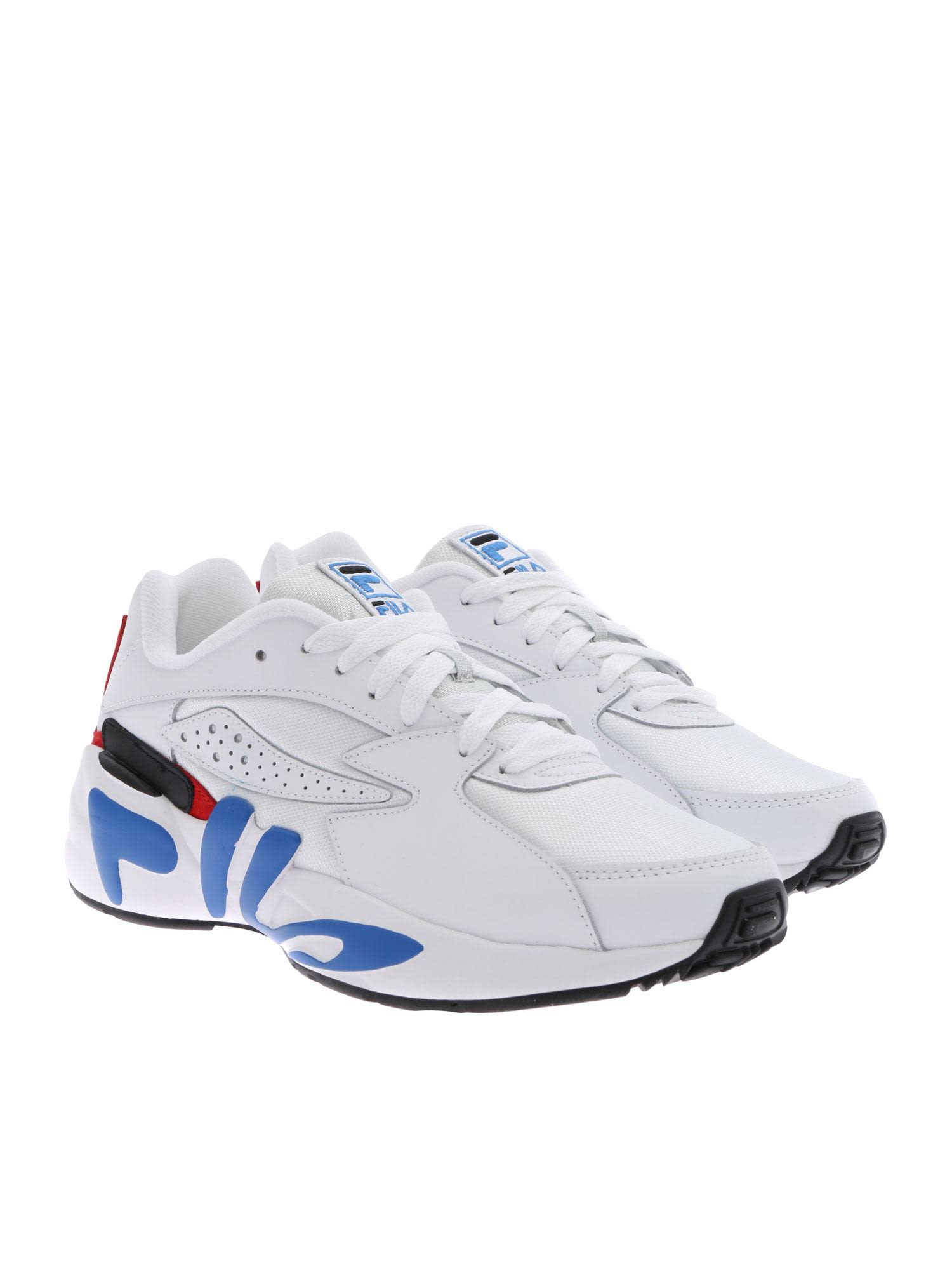 00e1607193be Fila White Mindblower Sneakers - Basic Fila White Mindblower Sneakers -  Basic ...