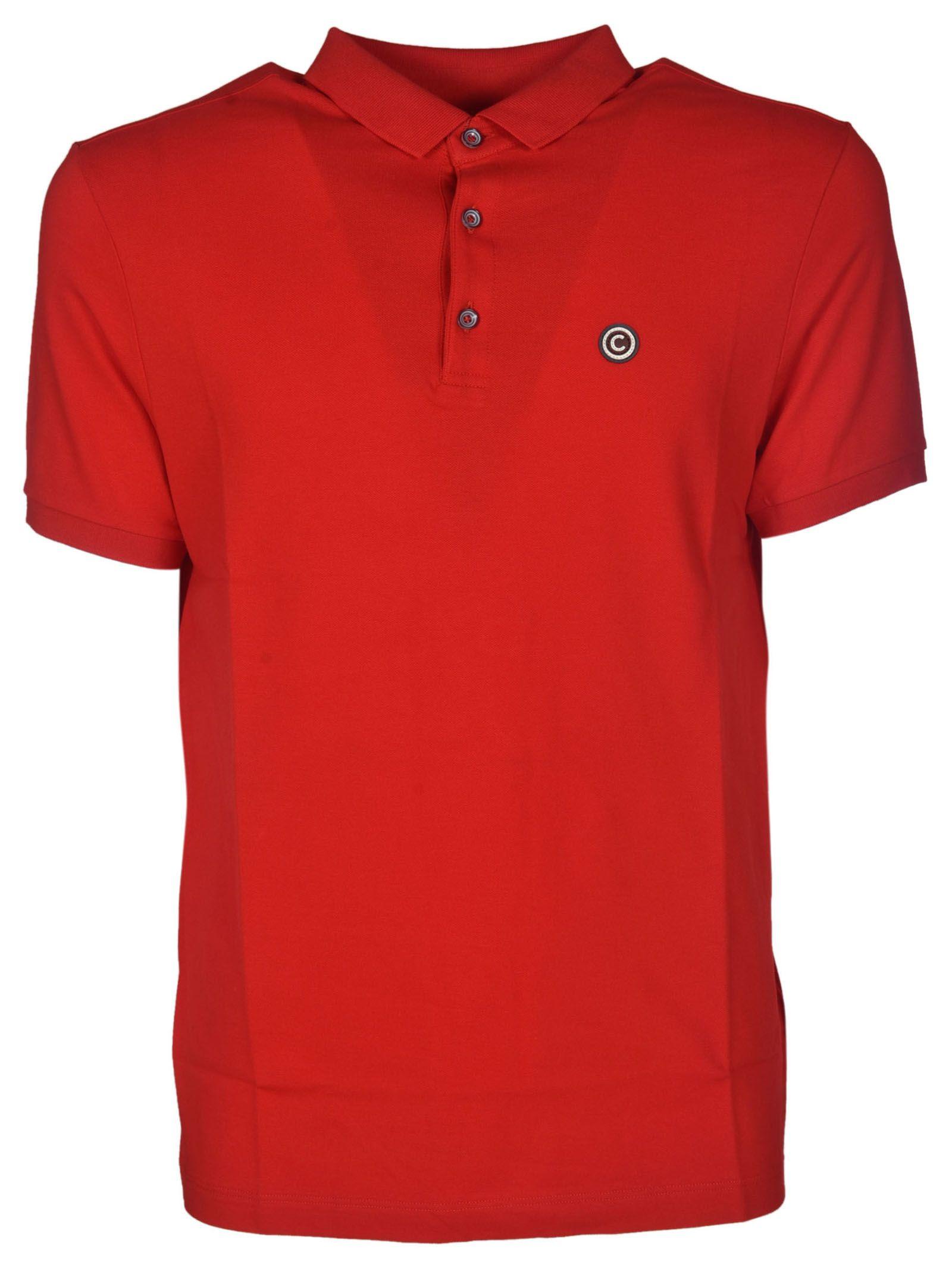 Colmar Colmar Embroidered Logo Polo Shirt Red 10615035 Italist