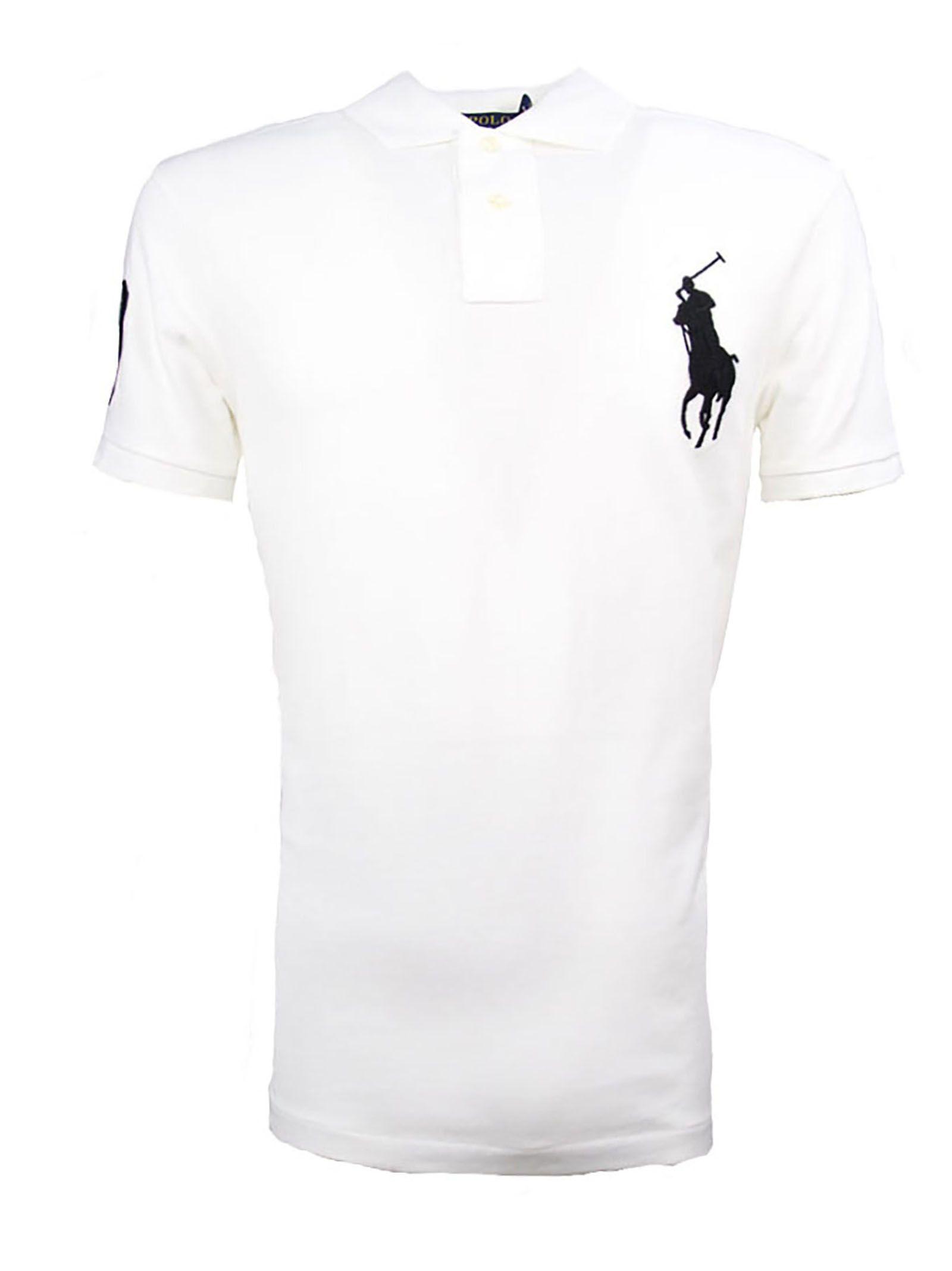 baf7846ef07c Ralph Lauren Ralph Lauren White Cotton Polo Shirt - Bianco ...