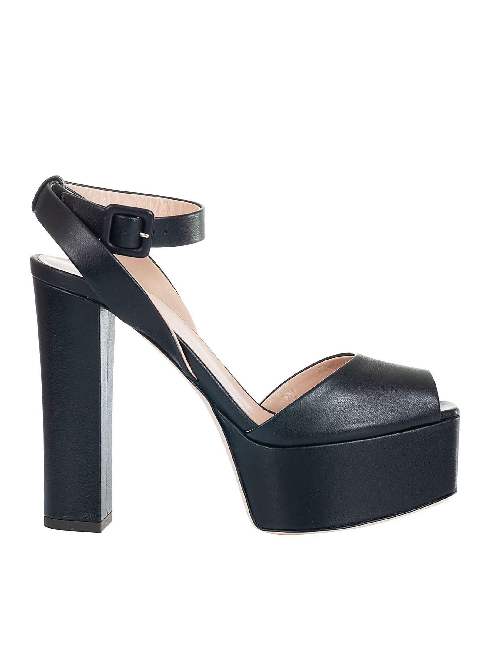 2905eb5243a Giuseppe Zanotti Giuseppe Zanotti Ankle Strap Platform Sandals ...