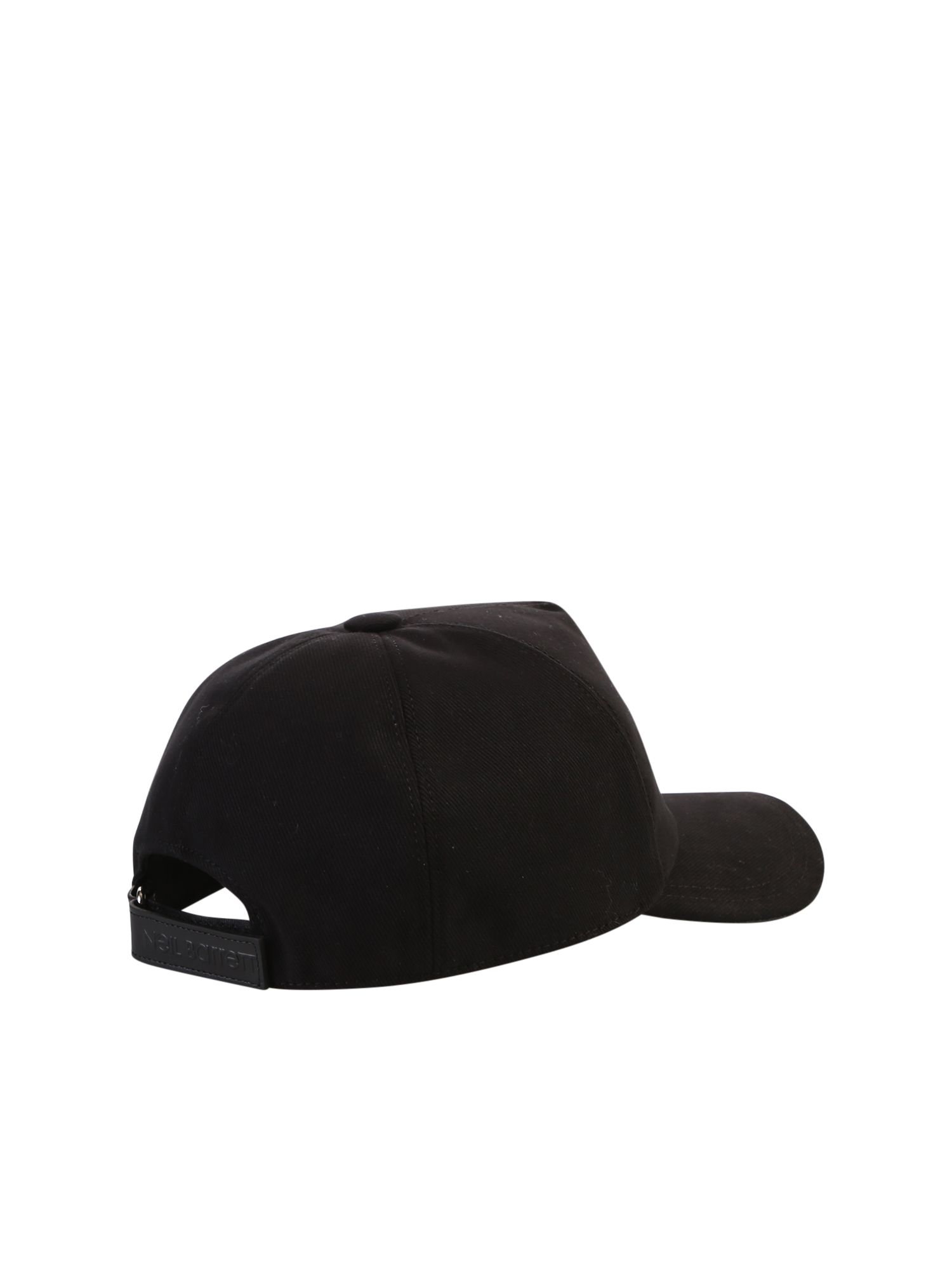 4457ee63783 Neil Barrett Neil Barrett Printed Baseball Hat - Black - 10815110 ...