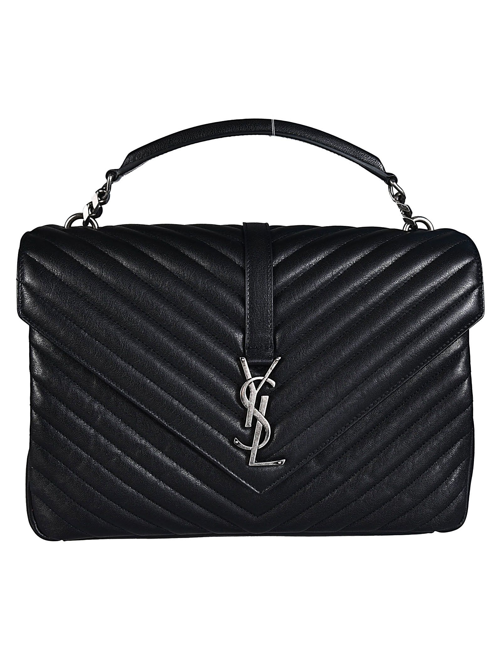 9c6276e4d5 Saint Laurent Saint Laurent Medium College Monogram Shoulder Bag ...