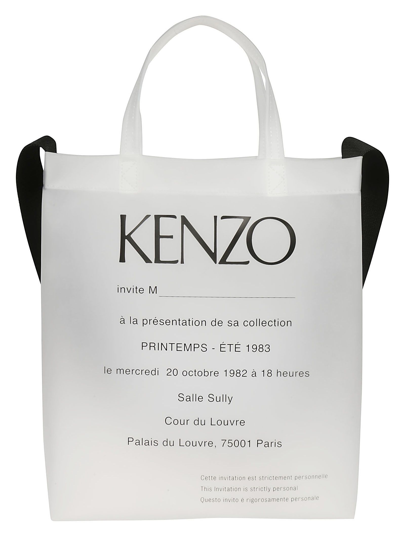 eb3afc2aa9 Kenzo Kenzo Printed Shopper Bag - White - 10848455 | italist