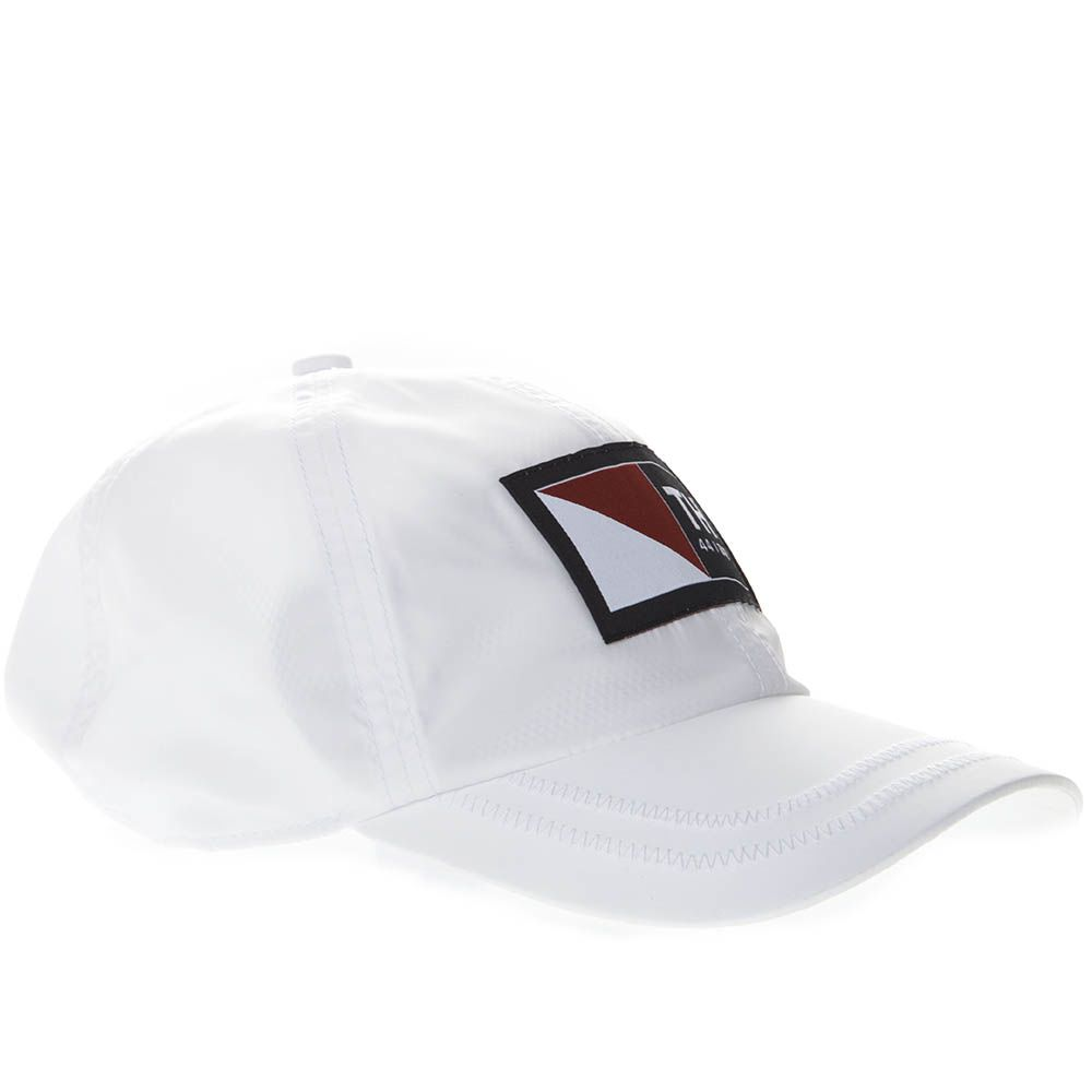 f095aa6f ... Tommy Hilfiger White Cotton Baseball Cap With Logo Patch - White ...