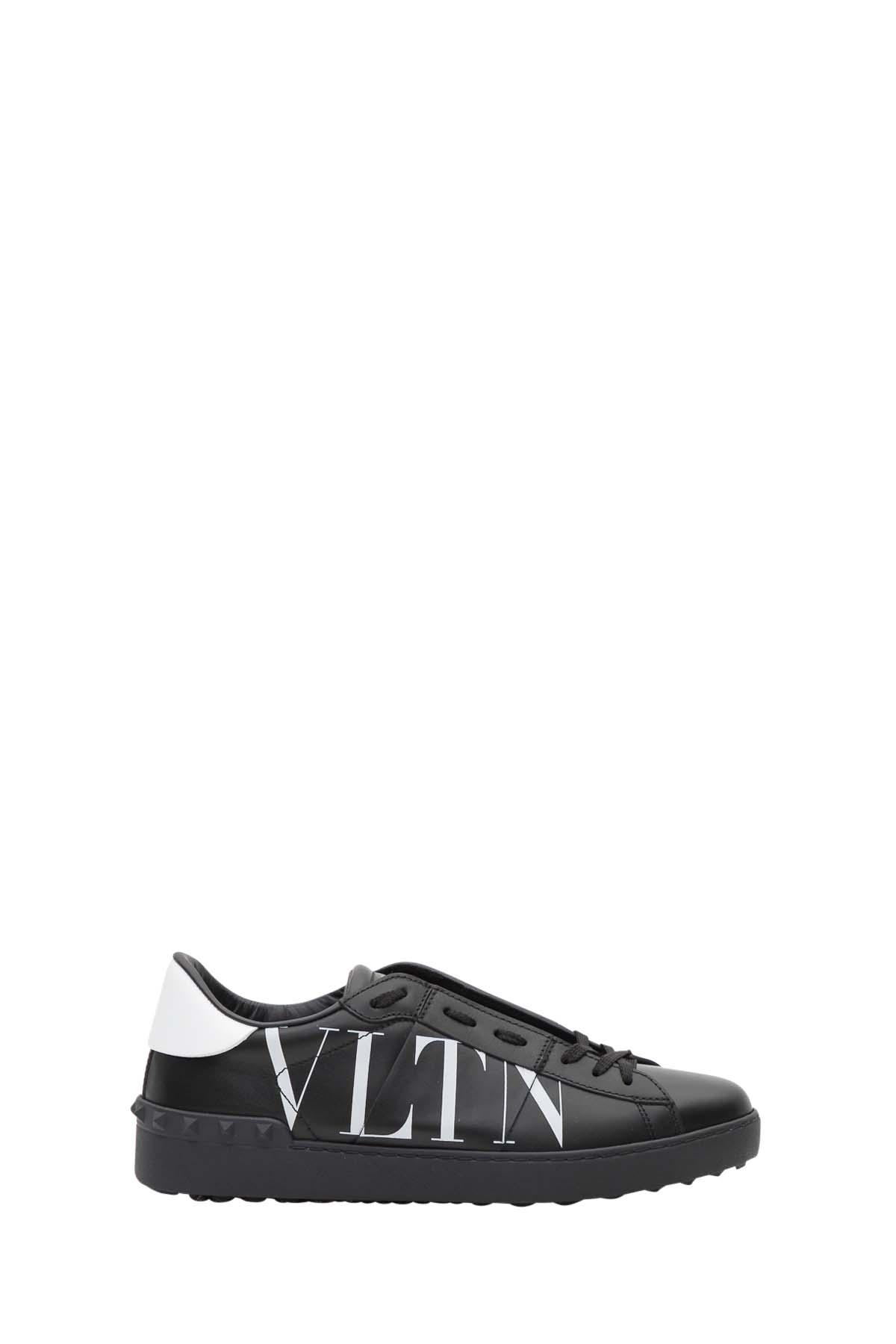 f002a9c1cc4f Valentino Garavani Valentino Garavani Vltn Open Sneaker - Black ...
