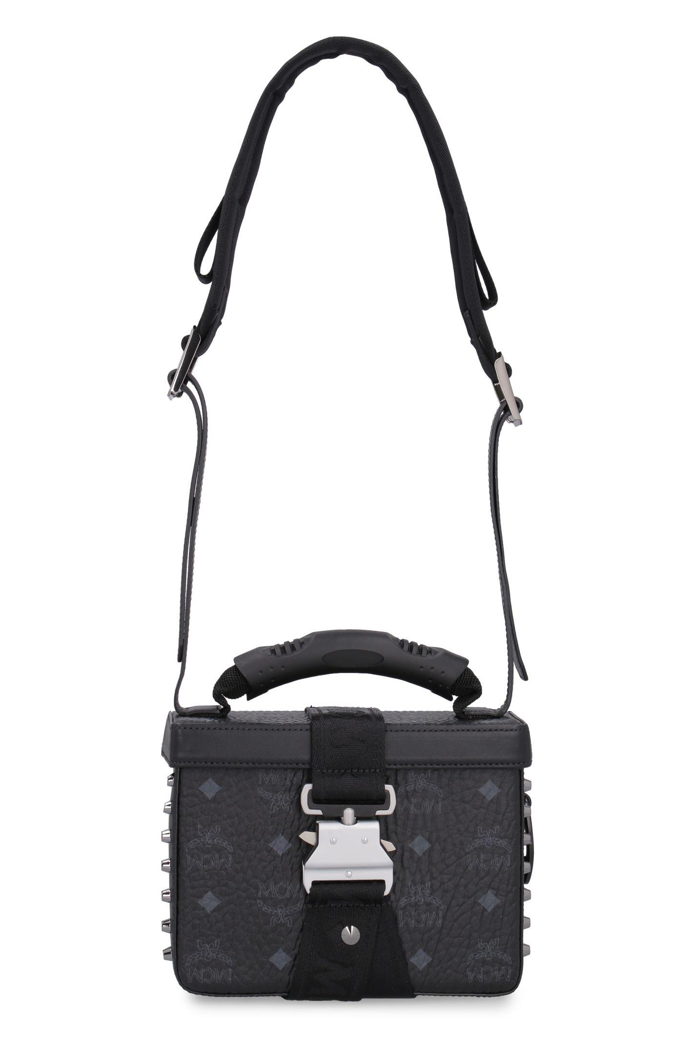 9601a6a0063e MCM MCM Jemison Crossbody Bag - black - 10878333 | italist